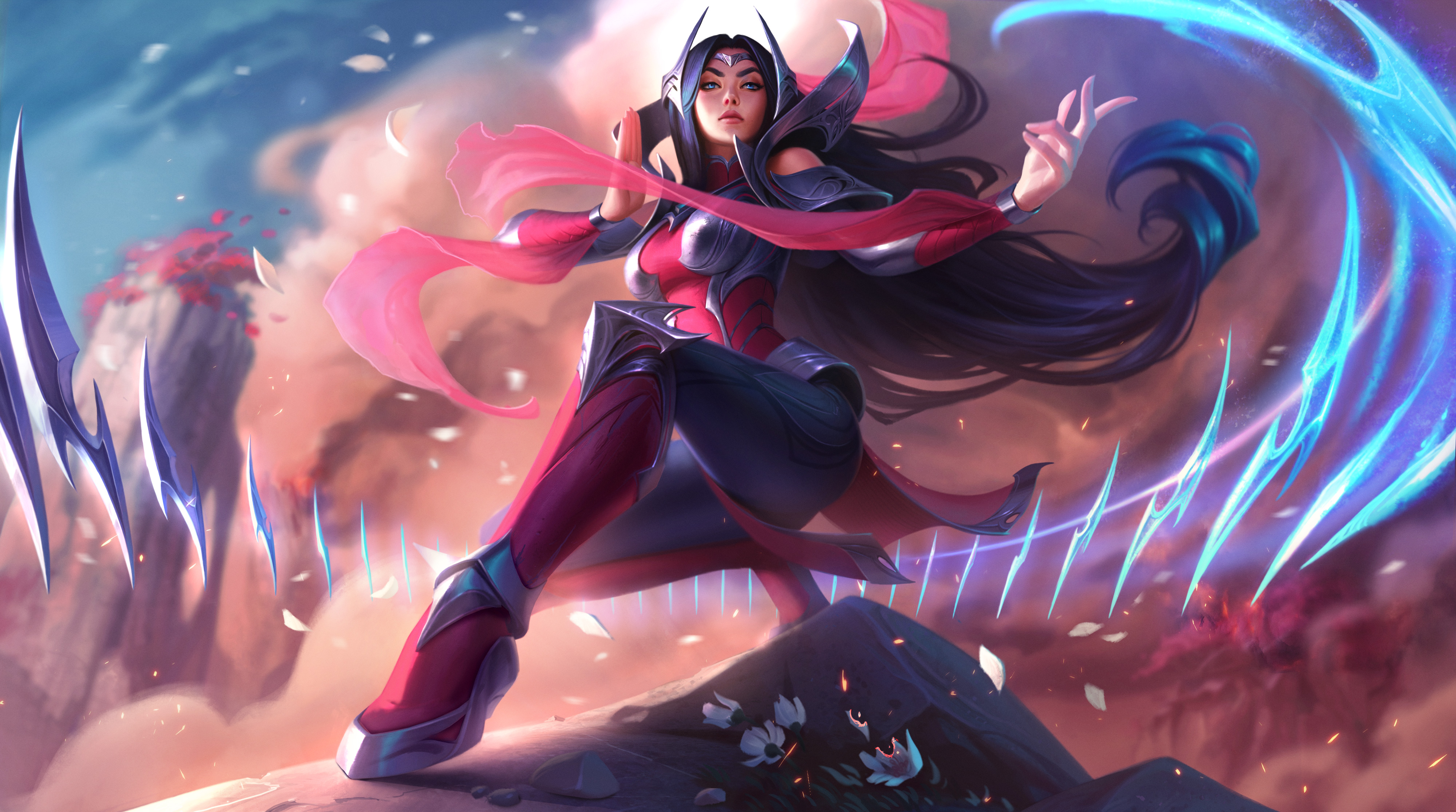 Irelia League Of Legends Hd Games 4k Wallpapers Images