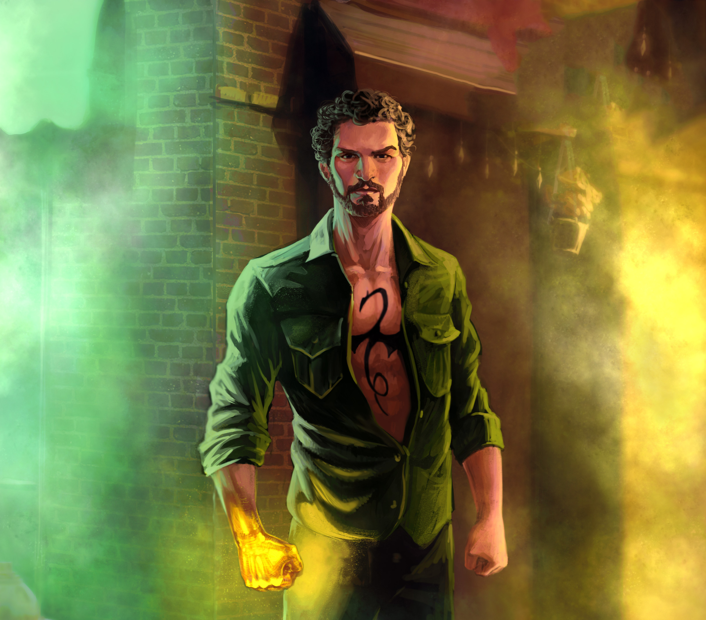 Iron Fist In The Defenders Artwork, HD Tv Shows, 4k