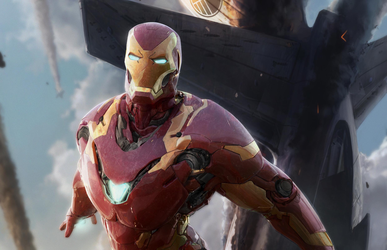 2880x1800 Iron Man Amazing Artwork Macbook Pro Retina HD