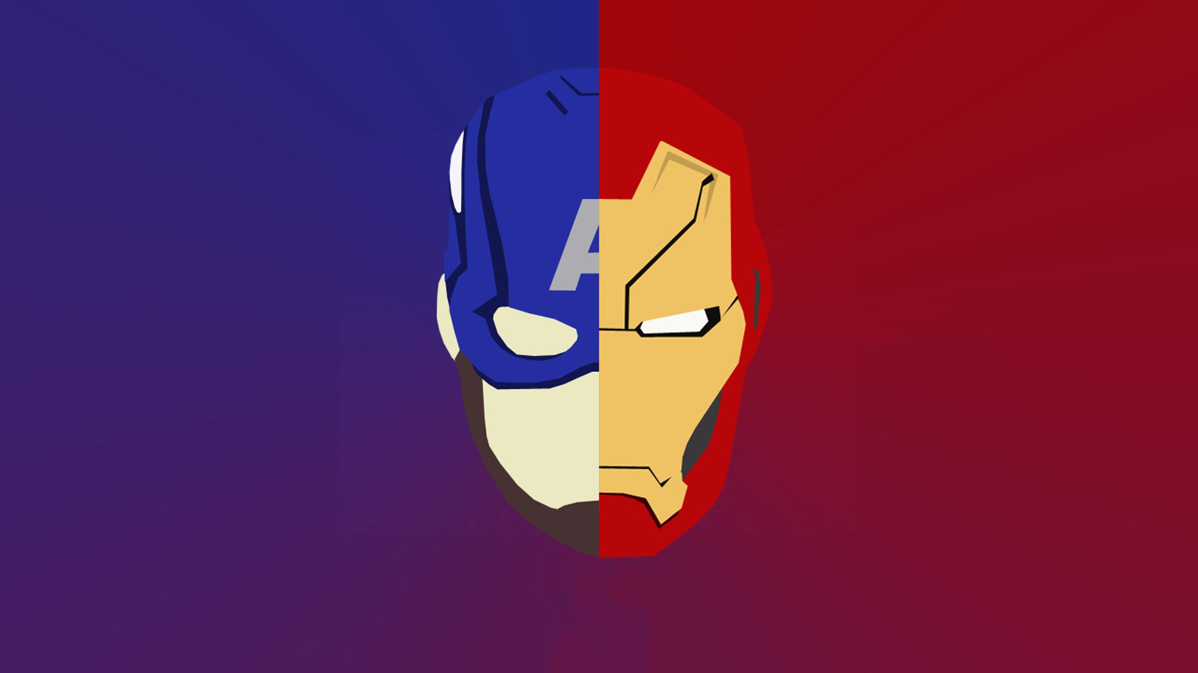 1080x1920 Iron Man And Captain America Artwork Iphone 7 6s 6 Plus