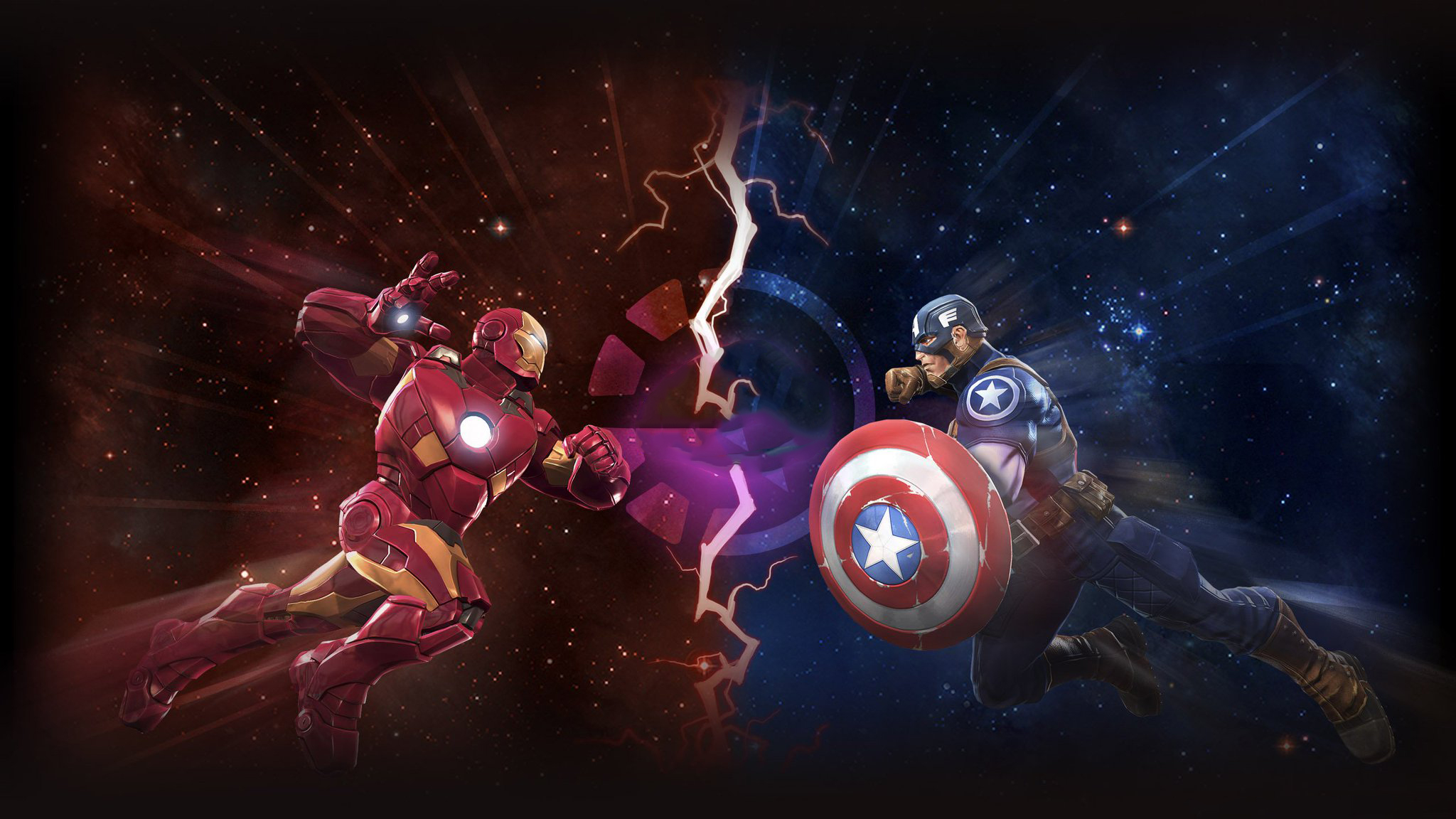 Iron Man And Captain America Marvel Contest Of Champions Hd Games