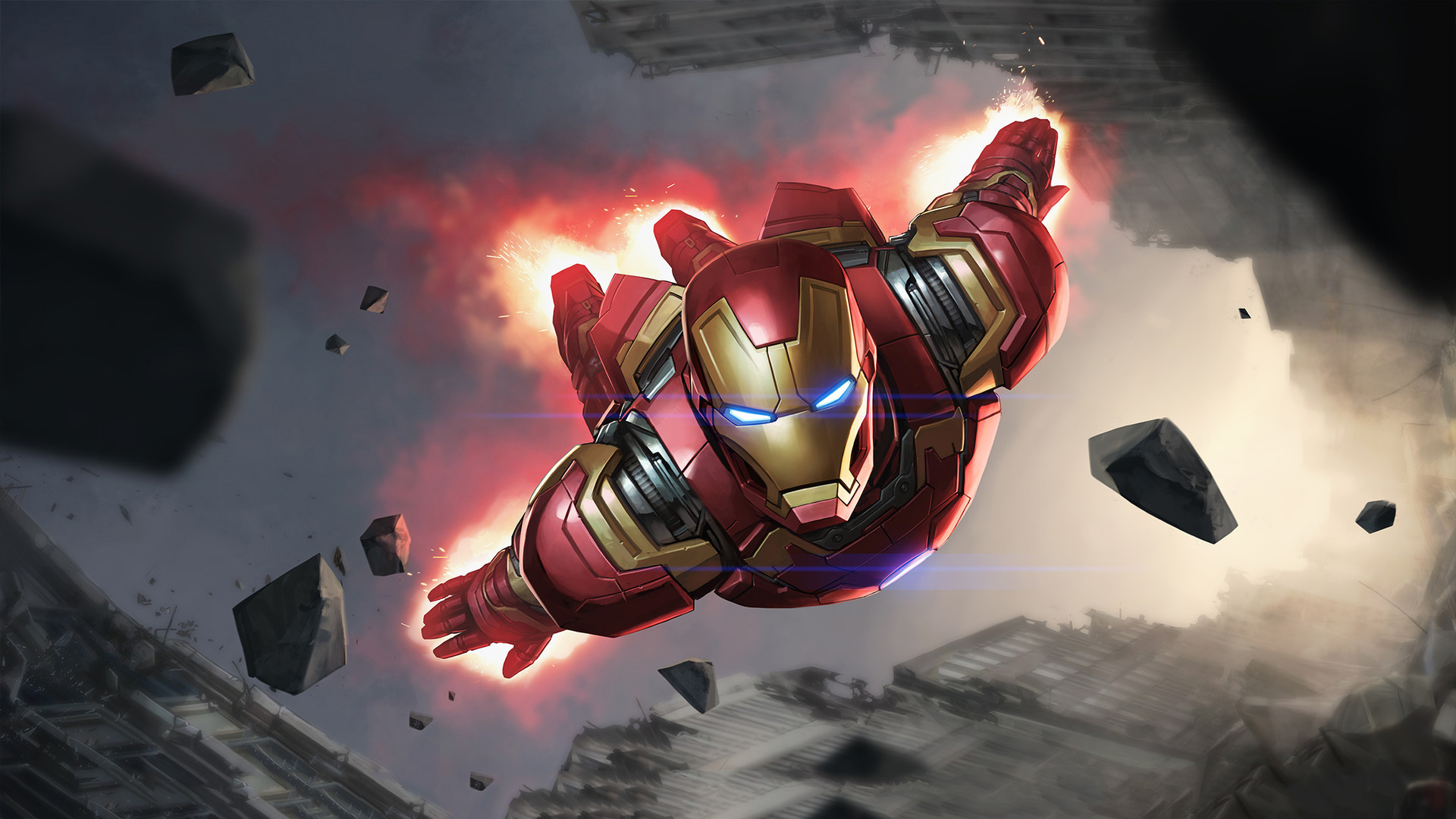 Iron Man Artwork Fan Made, HD Superheroes, 4k Wallpapers, Images