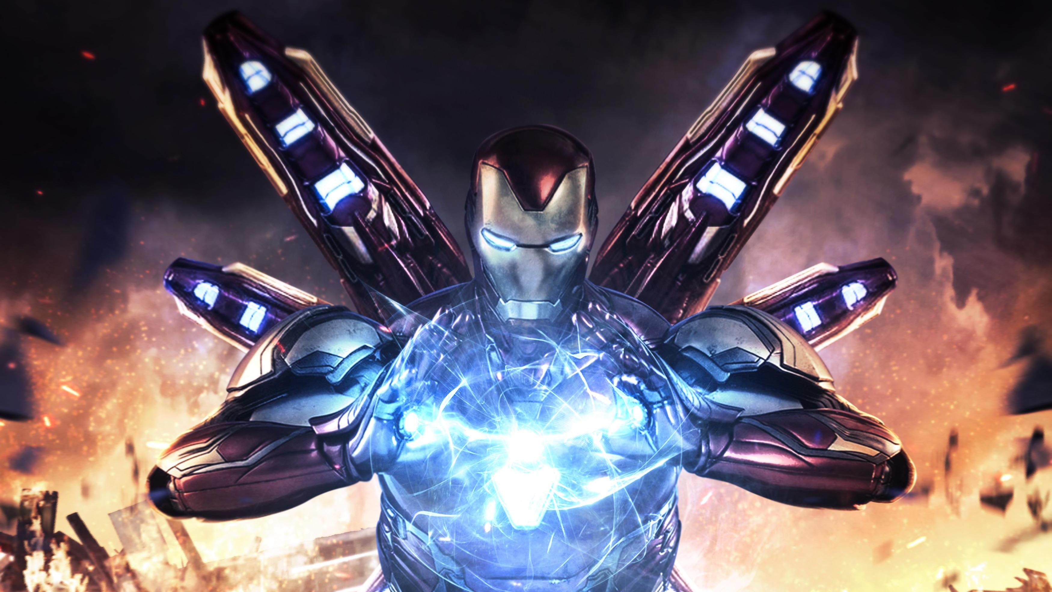 Iron Man Avengers Endgame 4k Hd Superheroes 4k Wallpapers