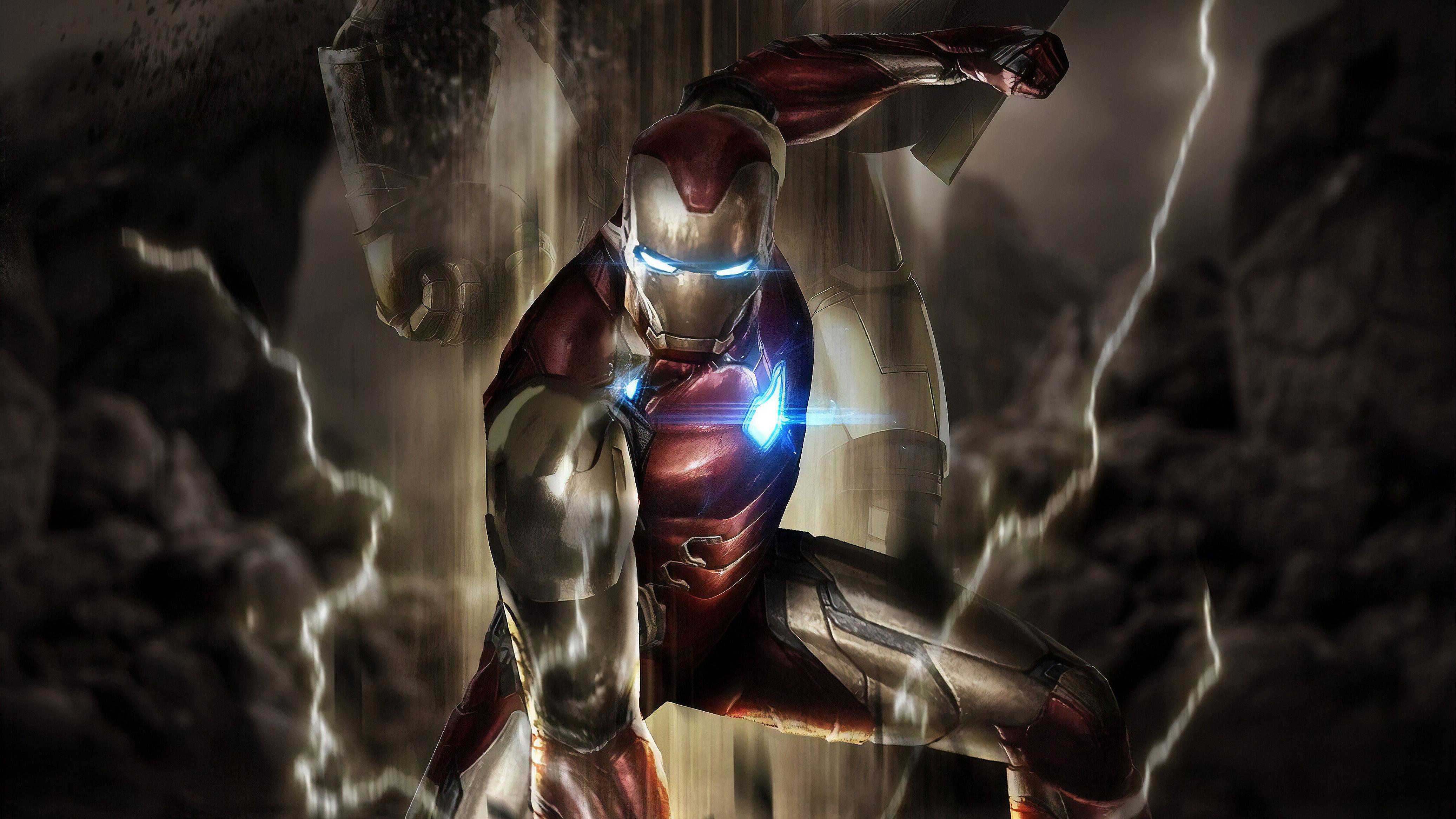 Iron Man Avengers Endgame Movie, HD Superheroes, 4k ...