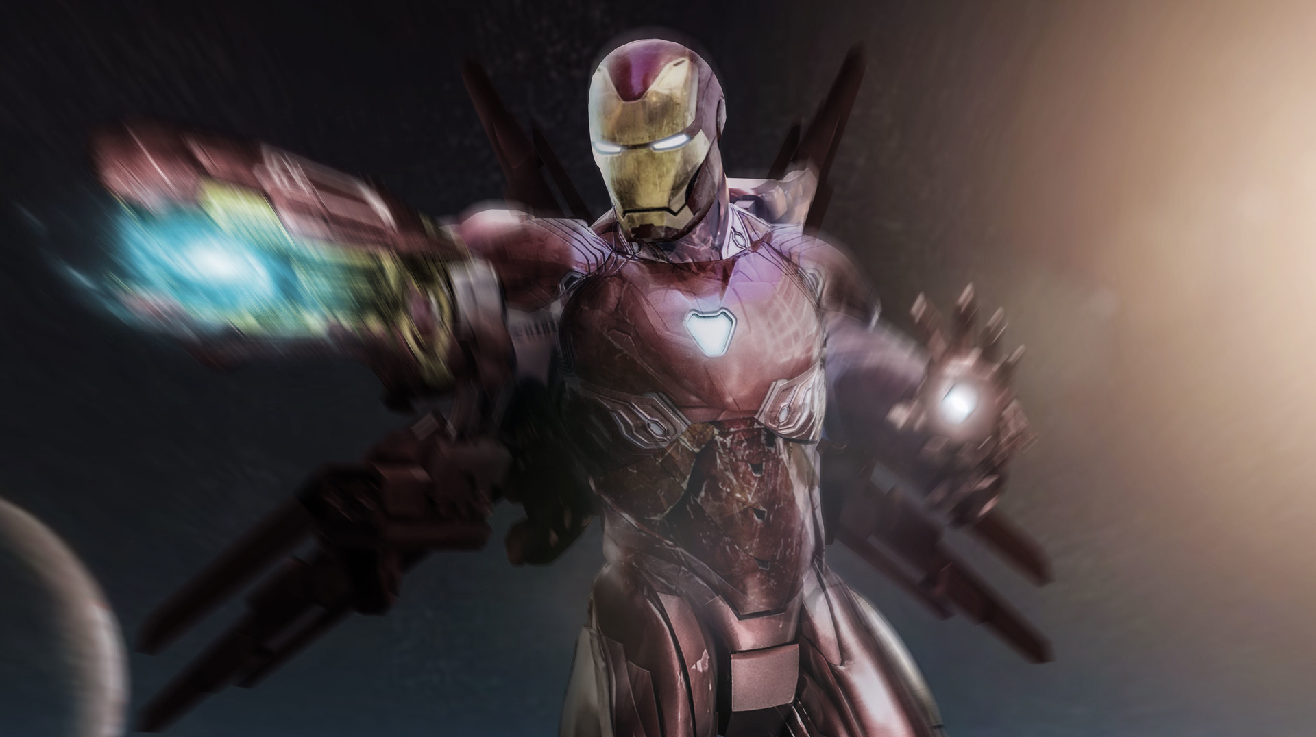 1920x1080 Iron Man Avengers Infinity War Suit Laptop Full Hd 1080p