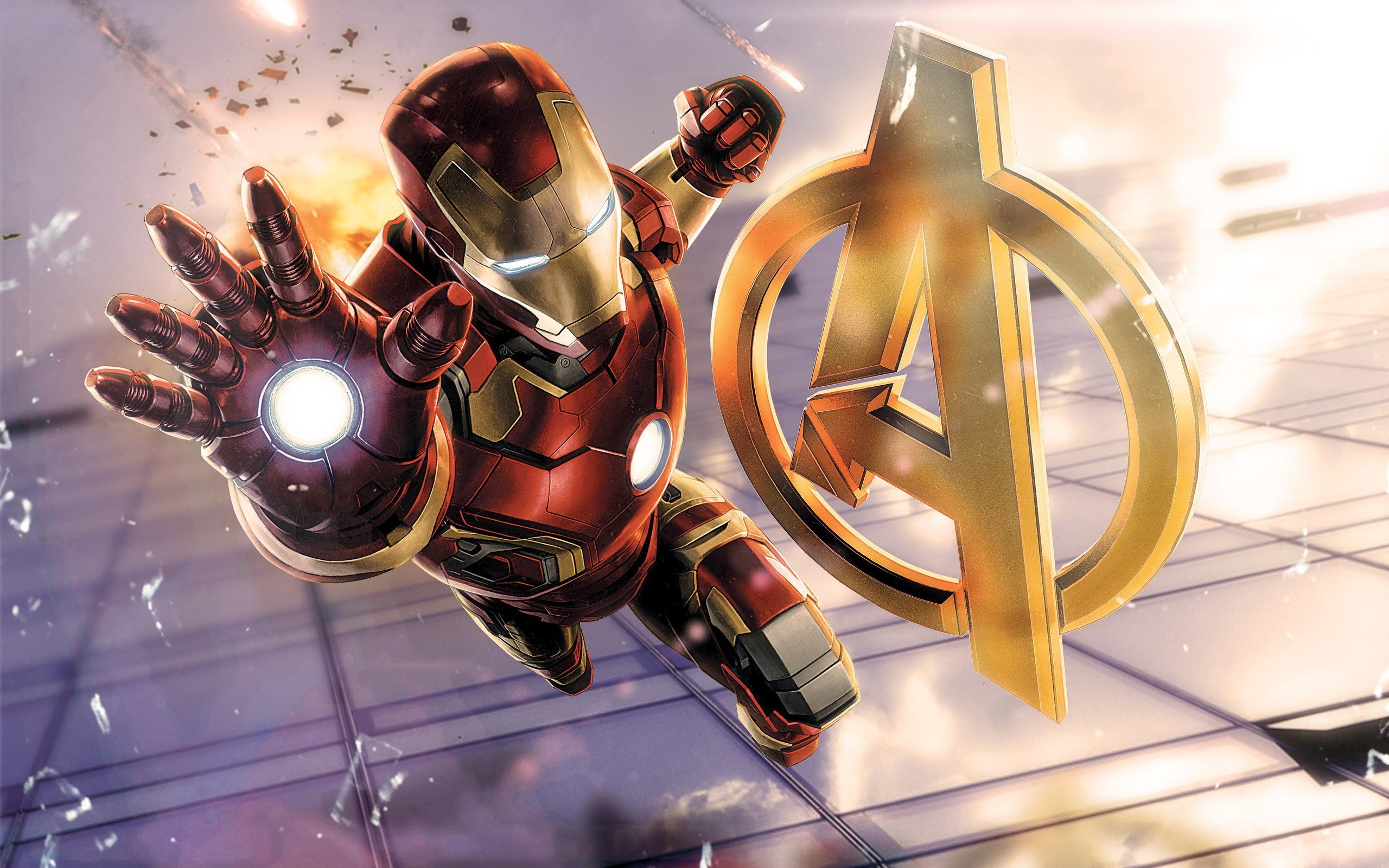 Iron Man Avengers 2048x1152 Resolution