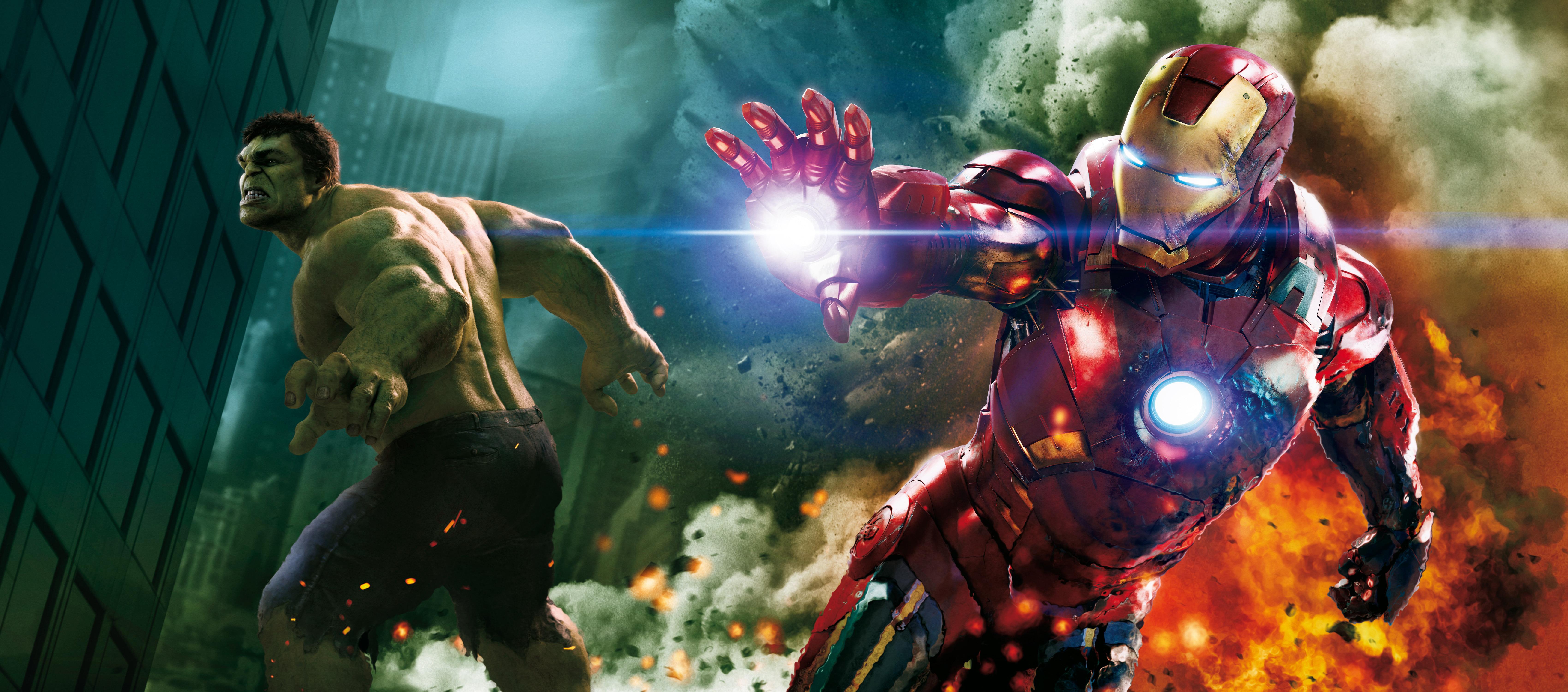 Iron Man Hulk 5k 8k Hd Superheroes 4k Wallpapers Images