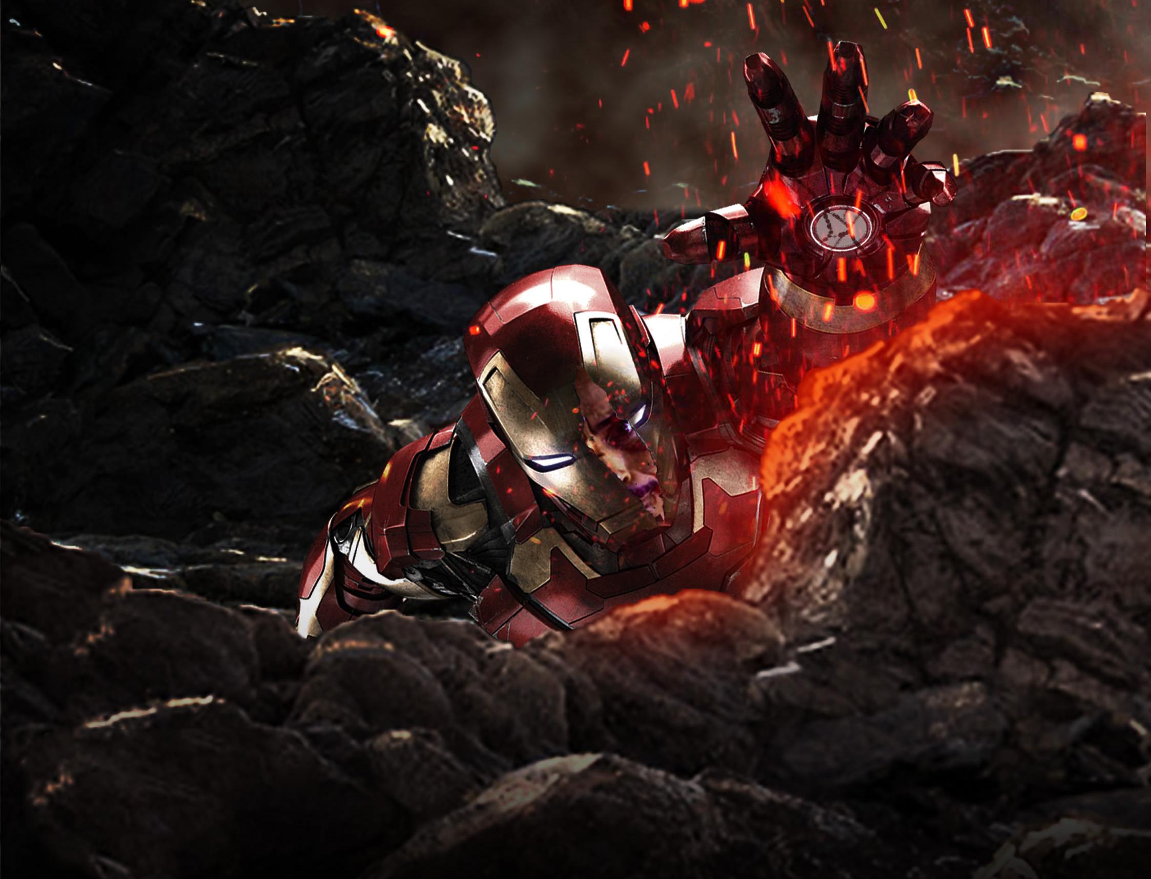 1920x1080 iron man in avengers infinity war laptop full hd 1080p hd
