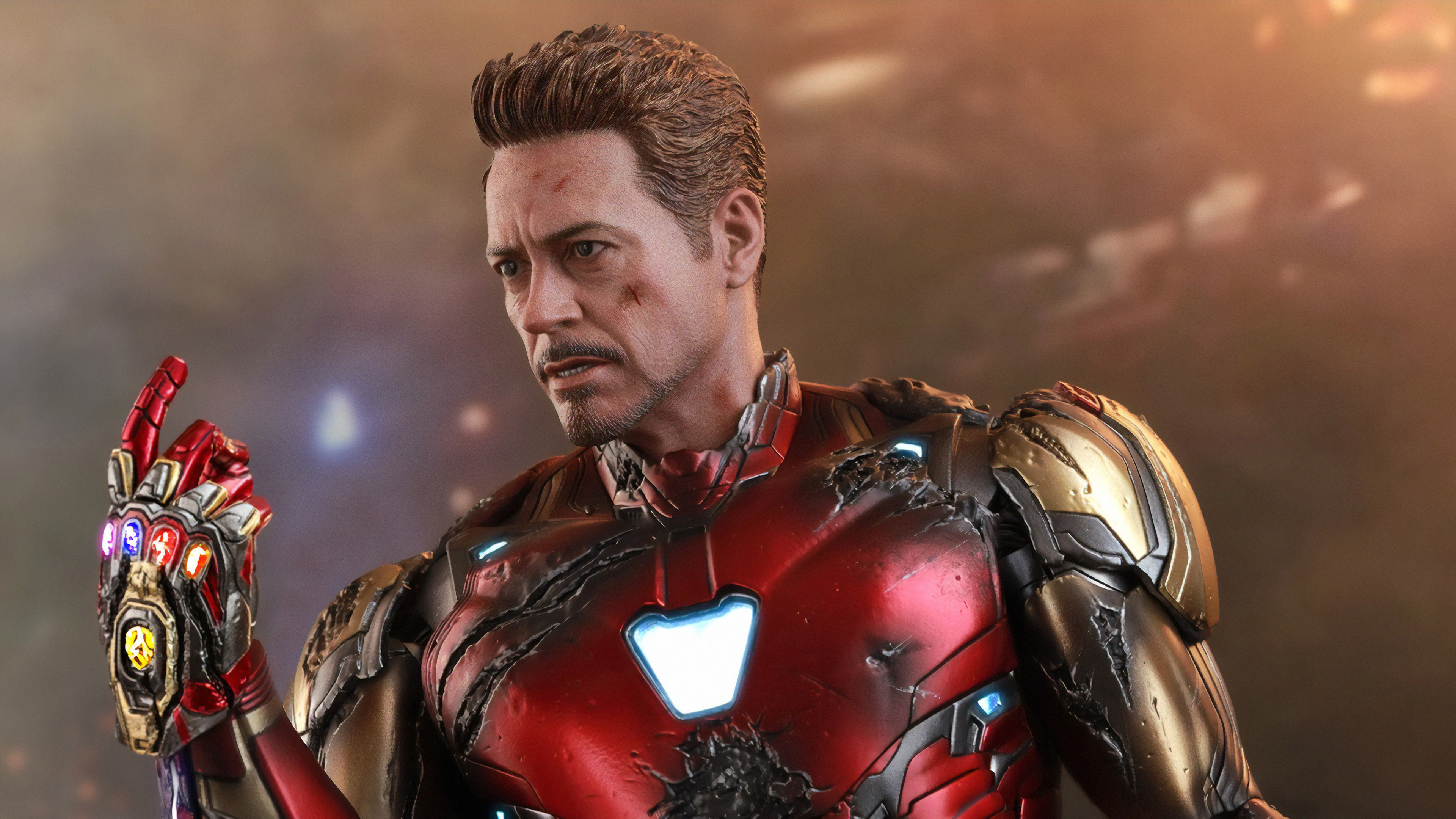 Iron Man Infinity Gauntlet 4k 2019, HD Superheroes, 4k Wallpapers, Images, Backgrounds, Photos ...