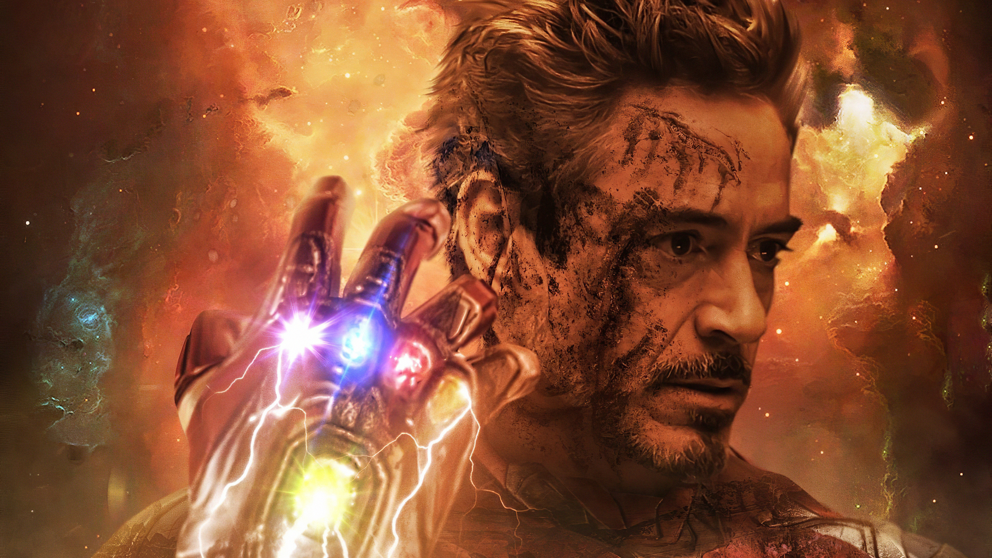 1360x765 Iron Man Infinity Gauntlet Stones 1360x765 Resolution Hd
