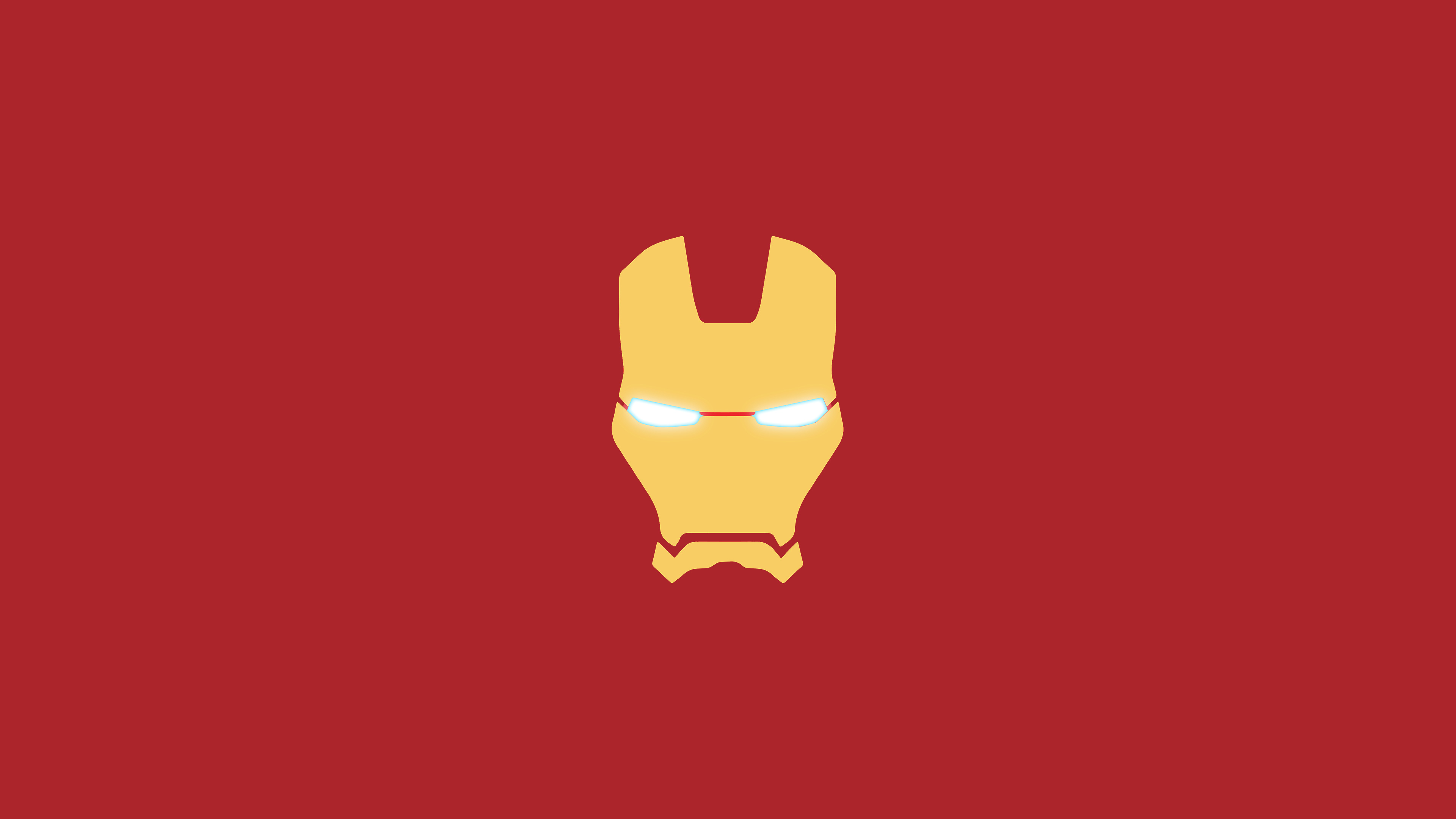 iron man mask minimal, hd logo, 4k wallpapers, images, backgrounds