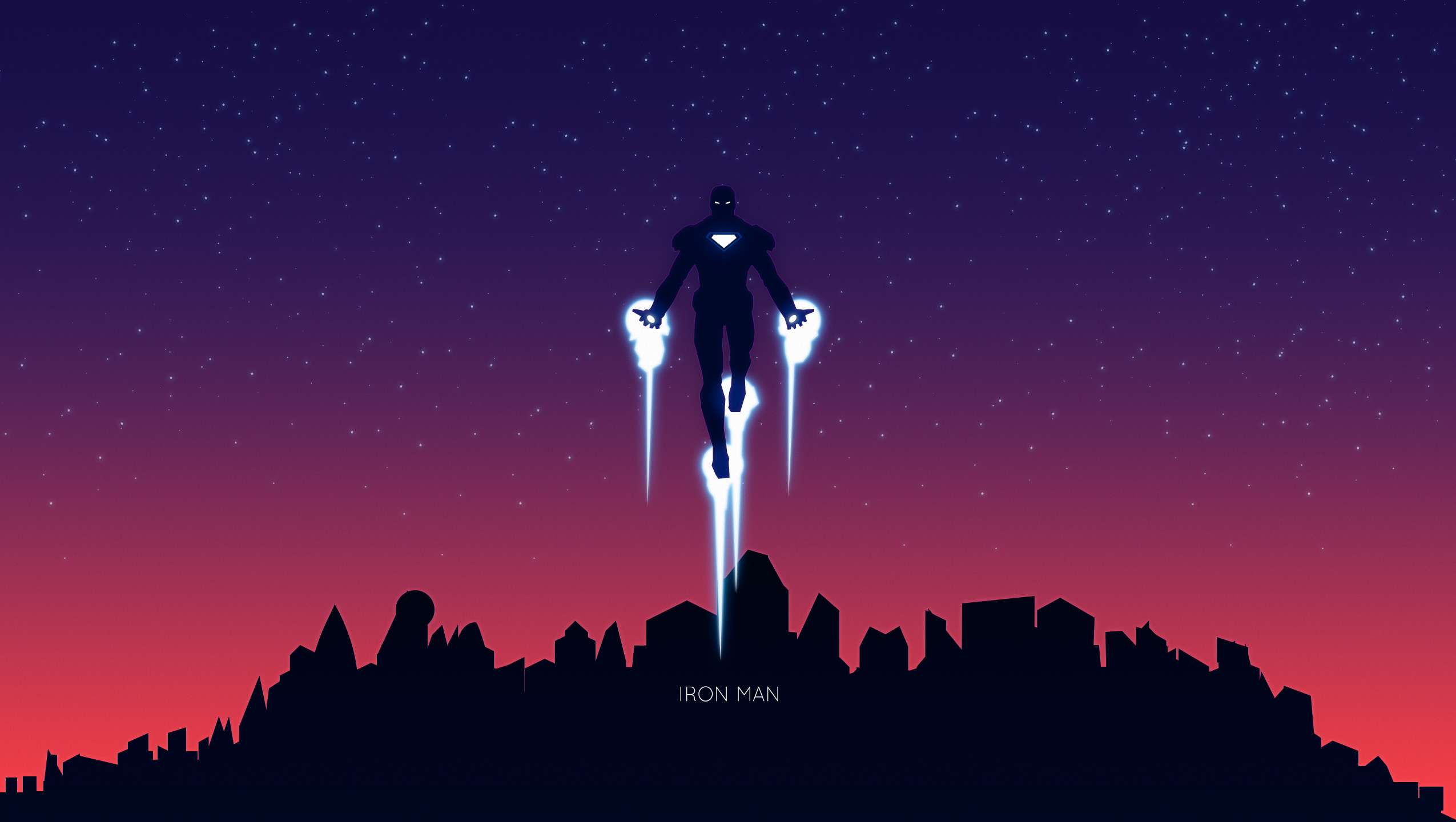 Iron Man Minimalism 2 Hd Superheroes 4k Wallpapers Images