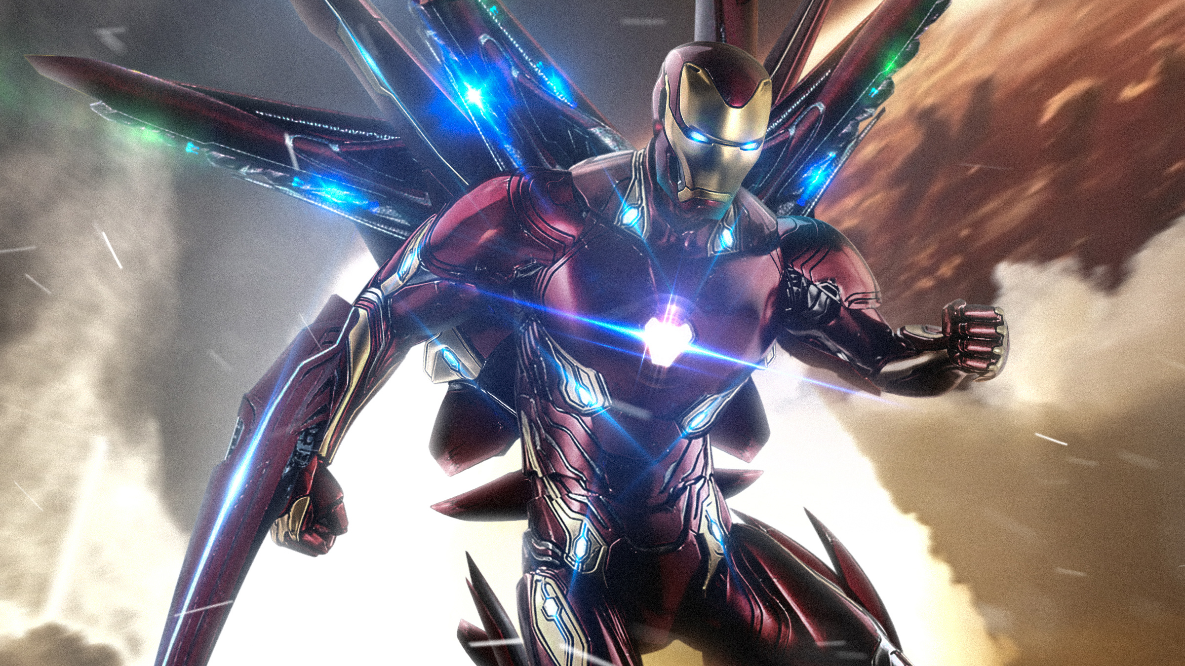 Iron Man New Suit Art Hd Superheroes 4k Wallpapers Images