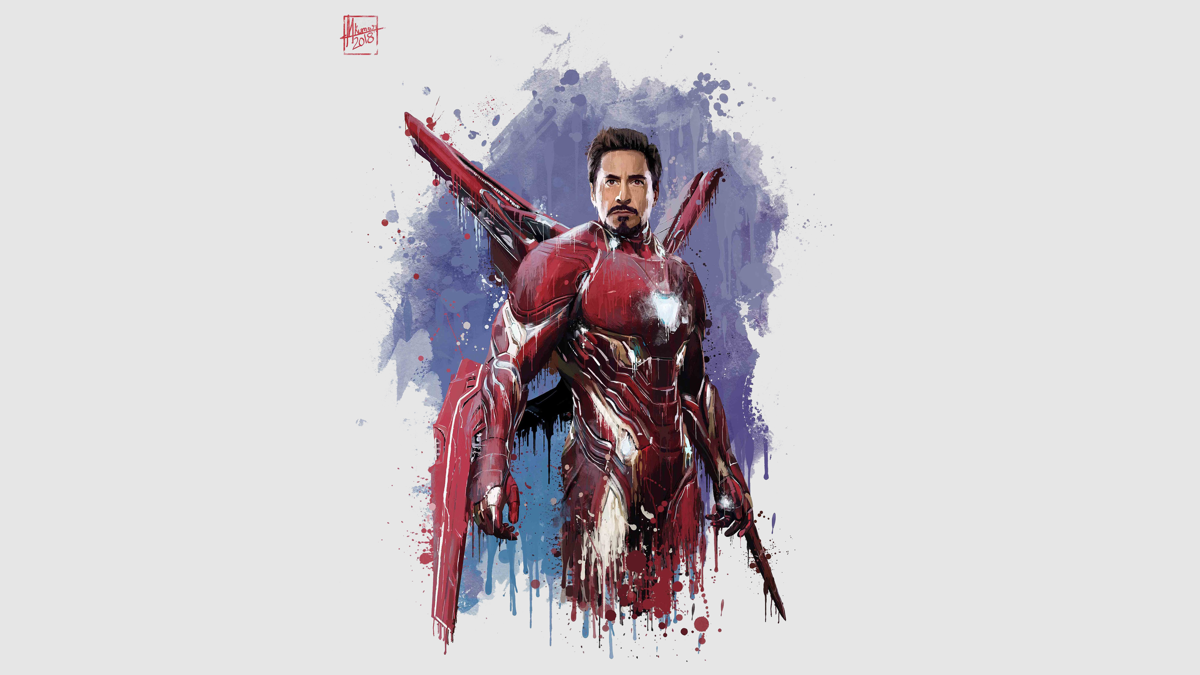 Iron man new suit for avengers infinity war hd movies 4k - New spiderman movie wallpaper ...
