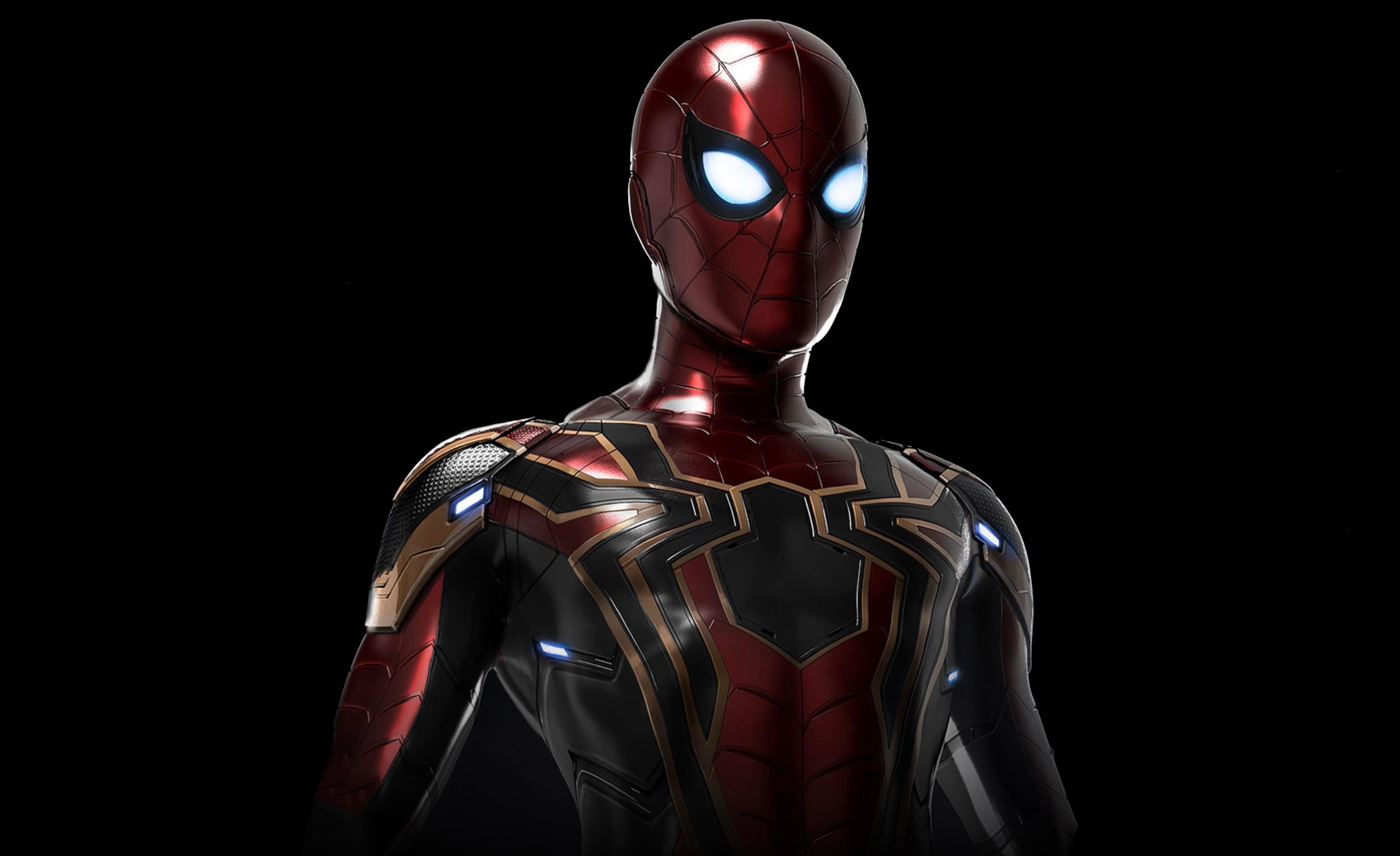 Iron Spider Suit Avengers Infinity War Hd Superheroes 4k