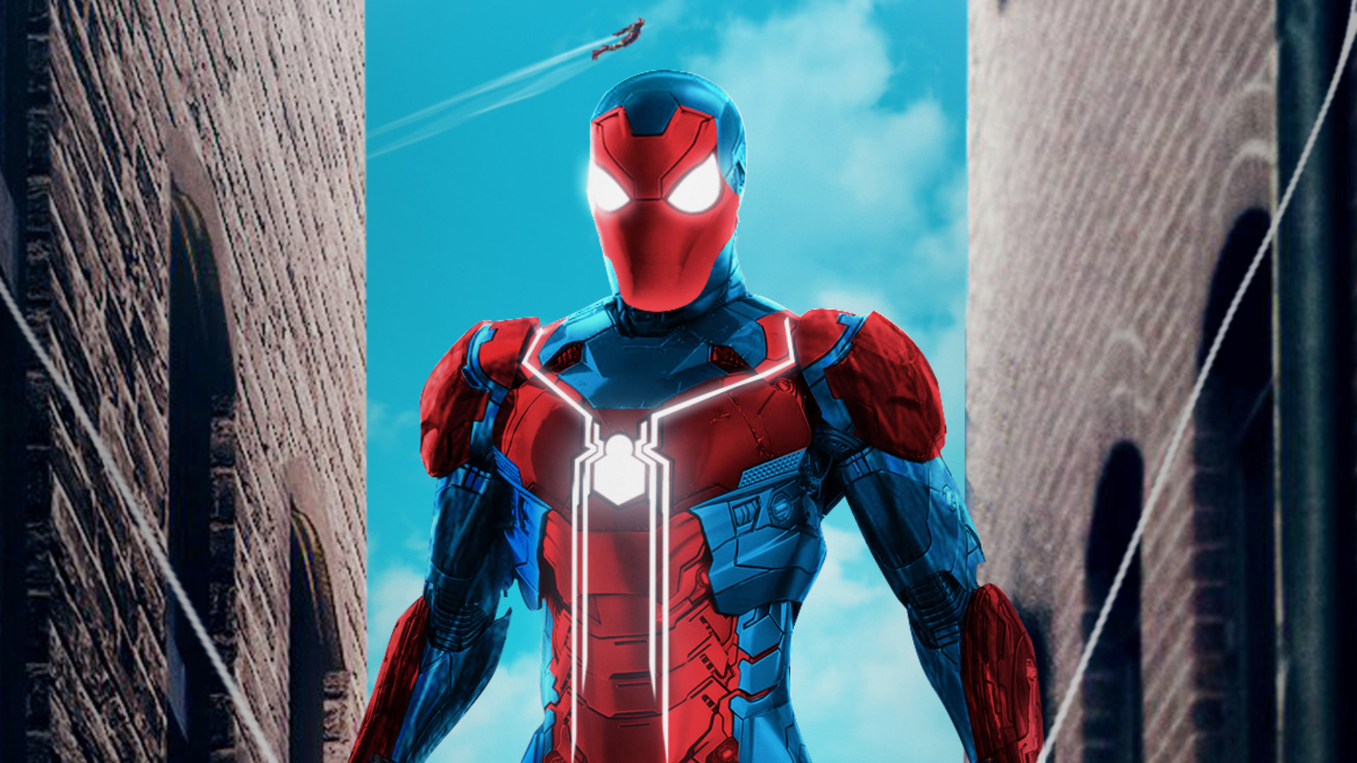 Spiderman New Suit Hd Wallpaper
