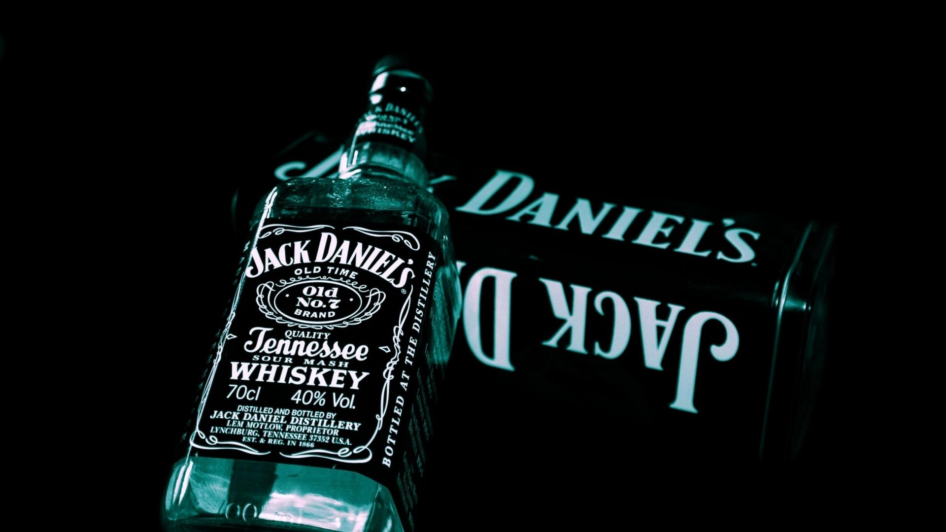 Jack Daniels Whiskey Bottle 2