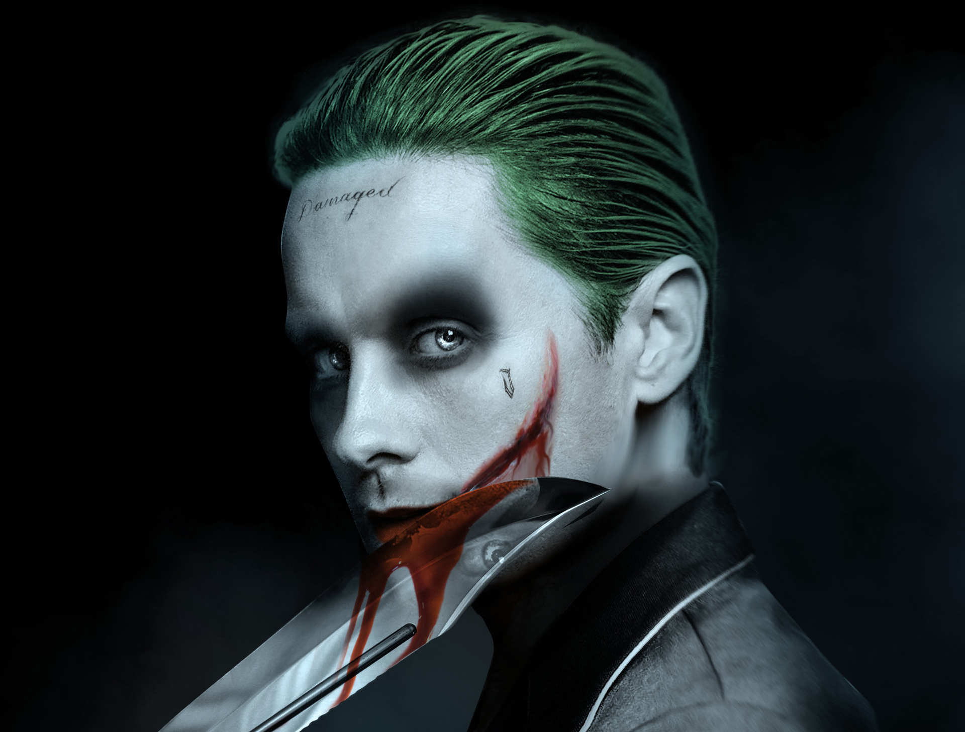 Jared Leto Joker Artwork, HD Superheroes, 4k Wallpapers