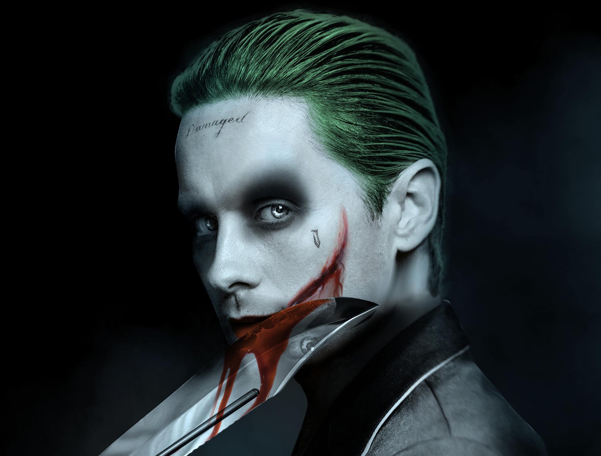 Jared Leto Joker Artwork, HD Superheroes, 4k Wallpapers ...