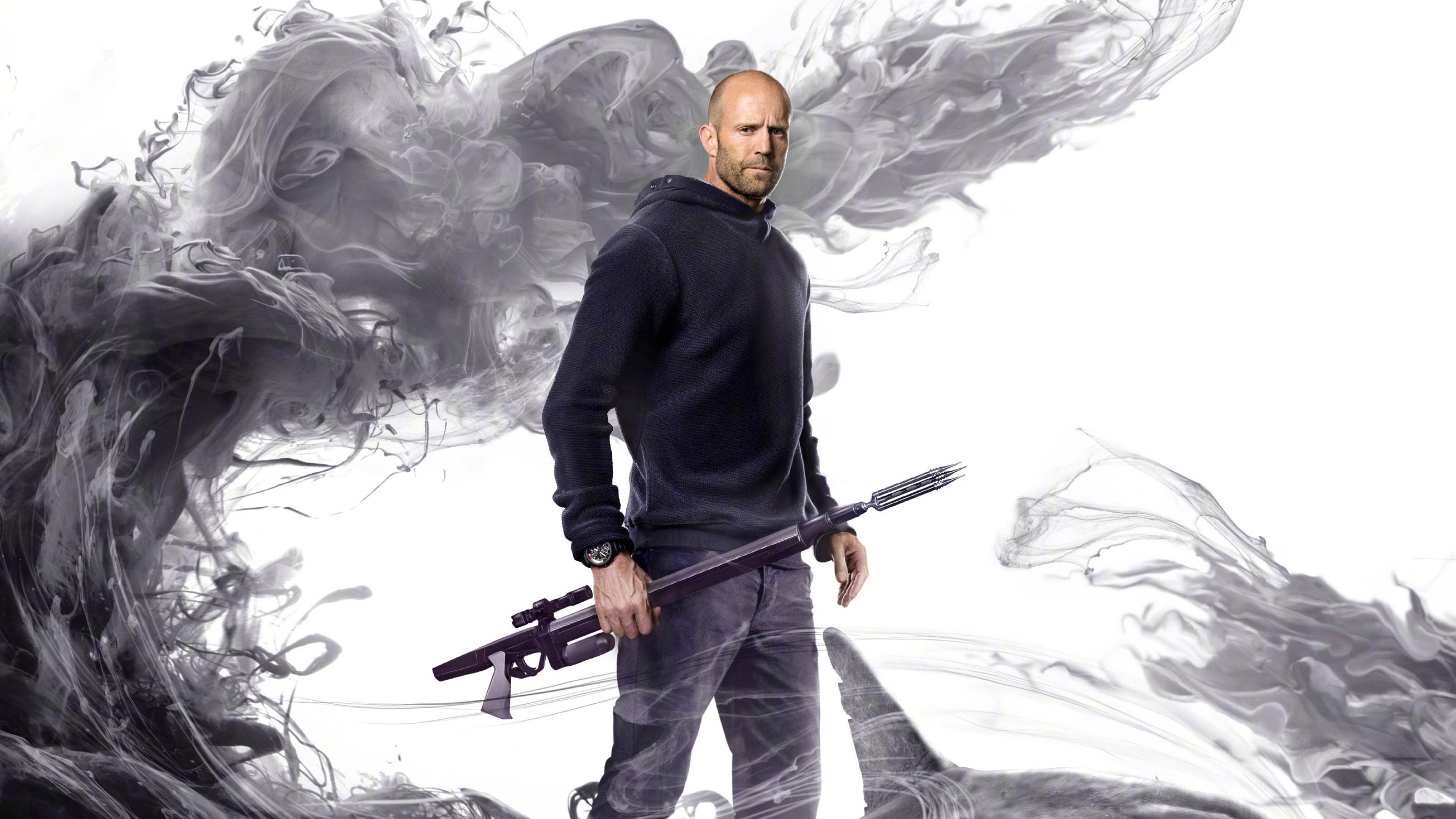 2048x2048 Anthem Ipad Air Hd 4k Wallpapers Images: 2048x2048 Jason Statham As Jonas Taylor In The Meg Movie