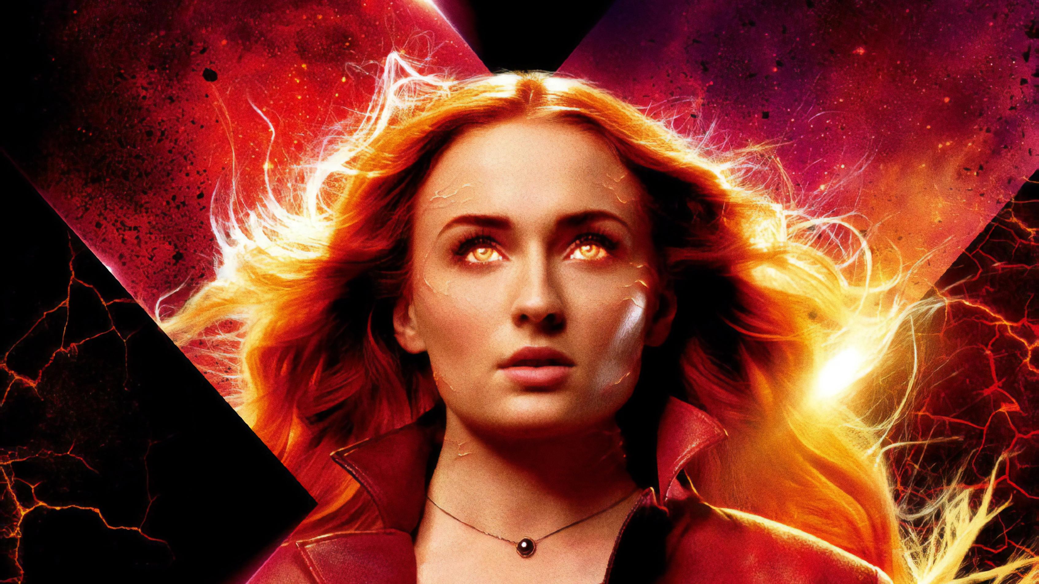Jean Grey X Men Dark Phoenix 4k Hd Movies 4k Wallpapers