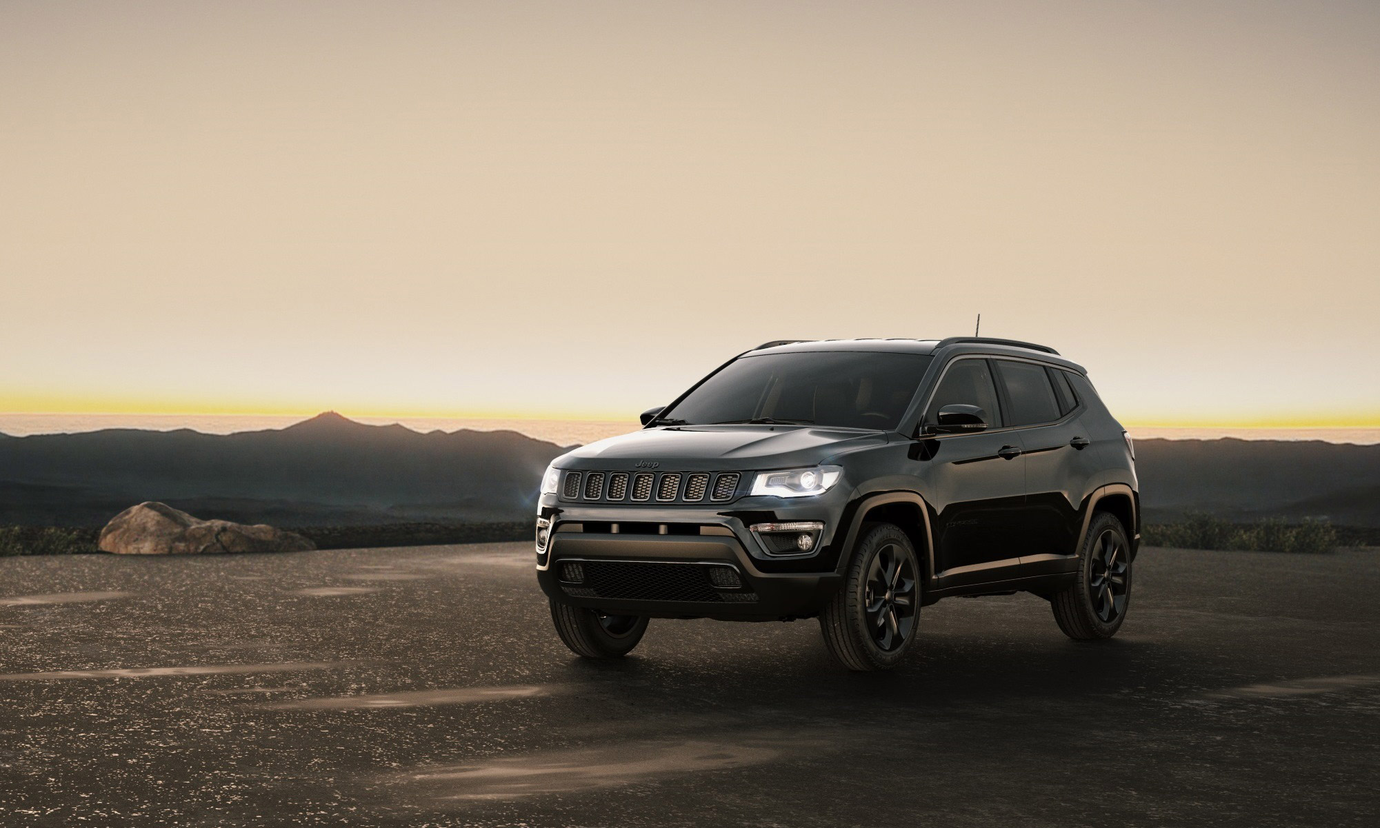 jeep compass night eagle 2017, hd cars, 4k wallpapers, images
