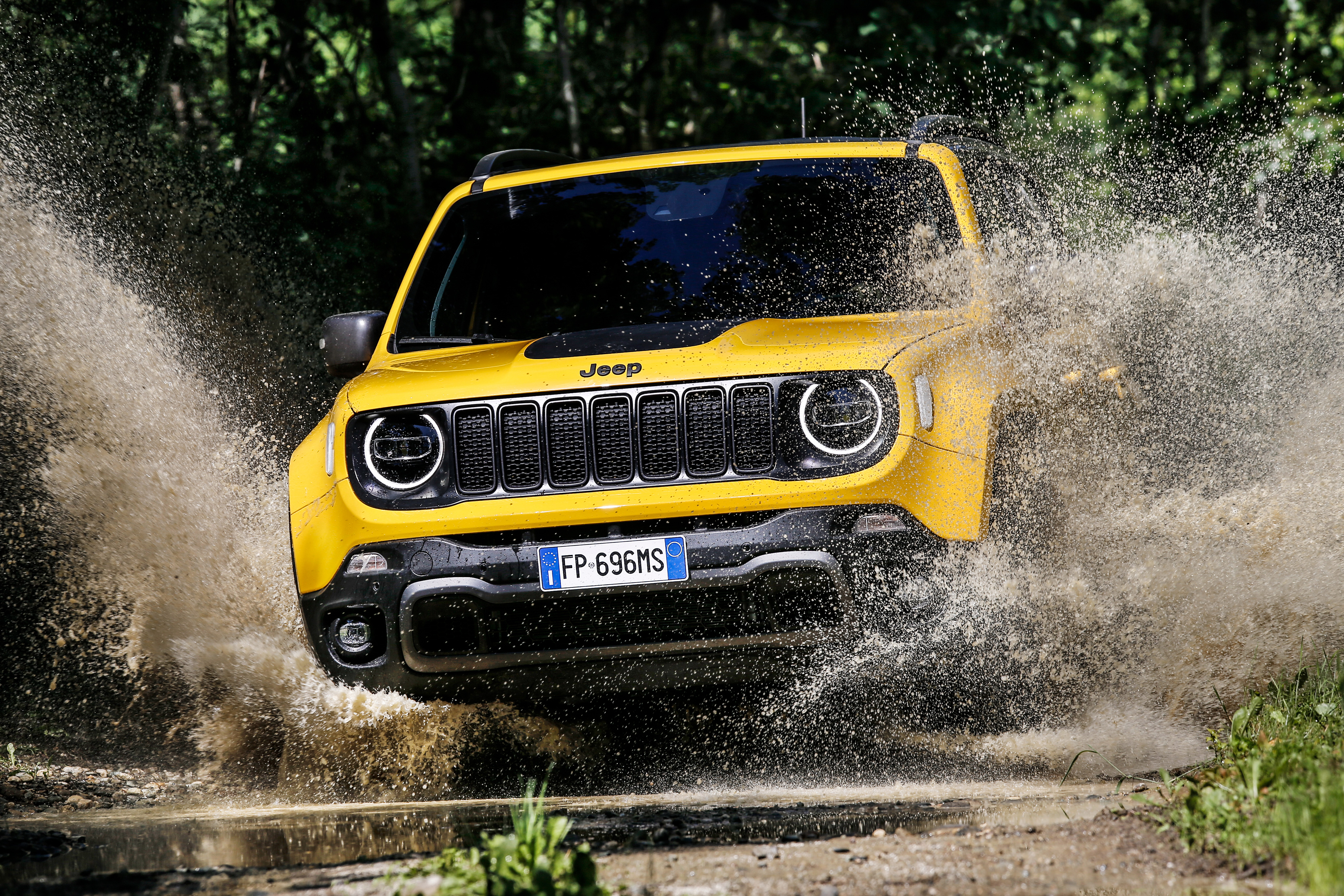 Jeep Renegade Trailhawk 2018, HD Cars, 4k Wallpapers ...