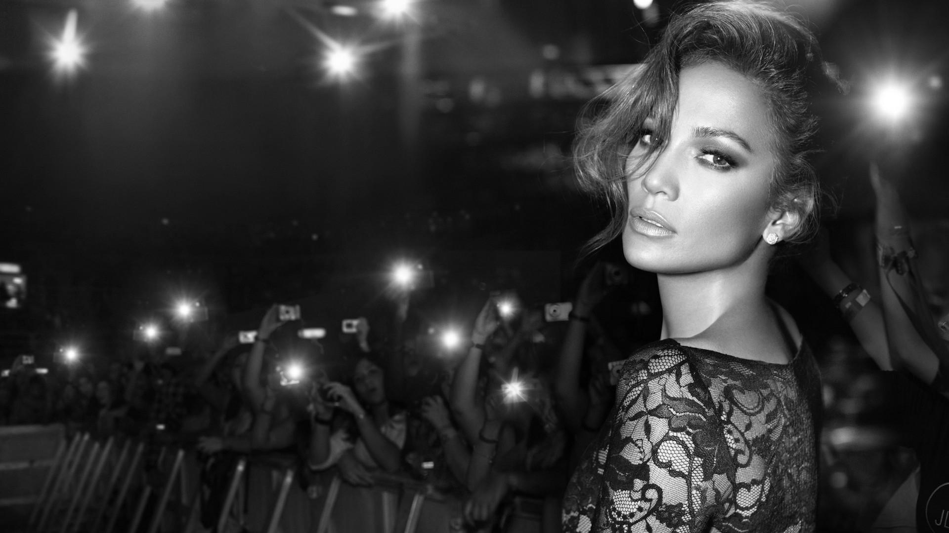 Jennifer Lopez Monochrome Hd Celebrities 4k Wallpapers