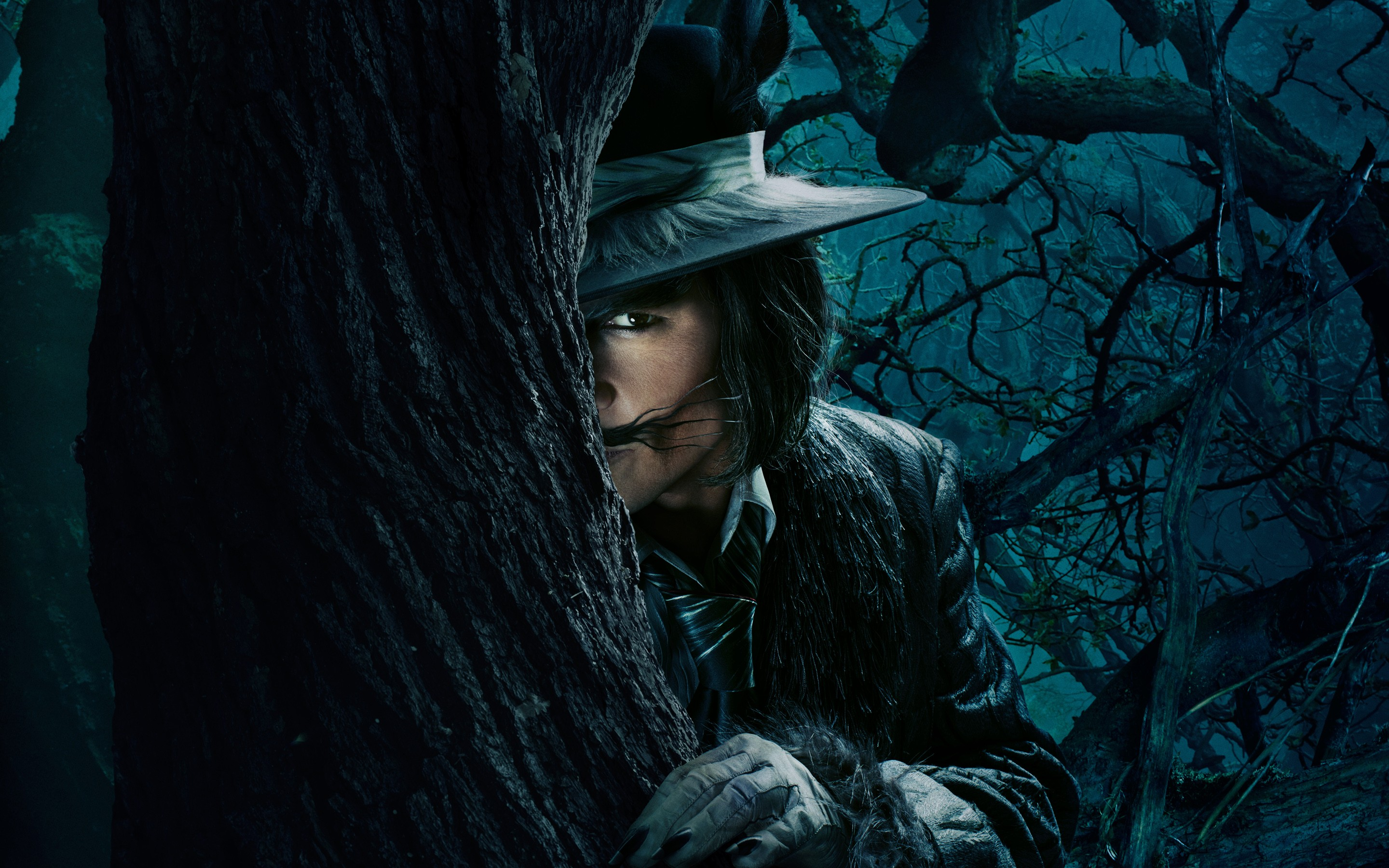 Johnny Depp The Wolf Into The Woods, HD Movies, 4k