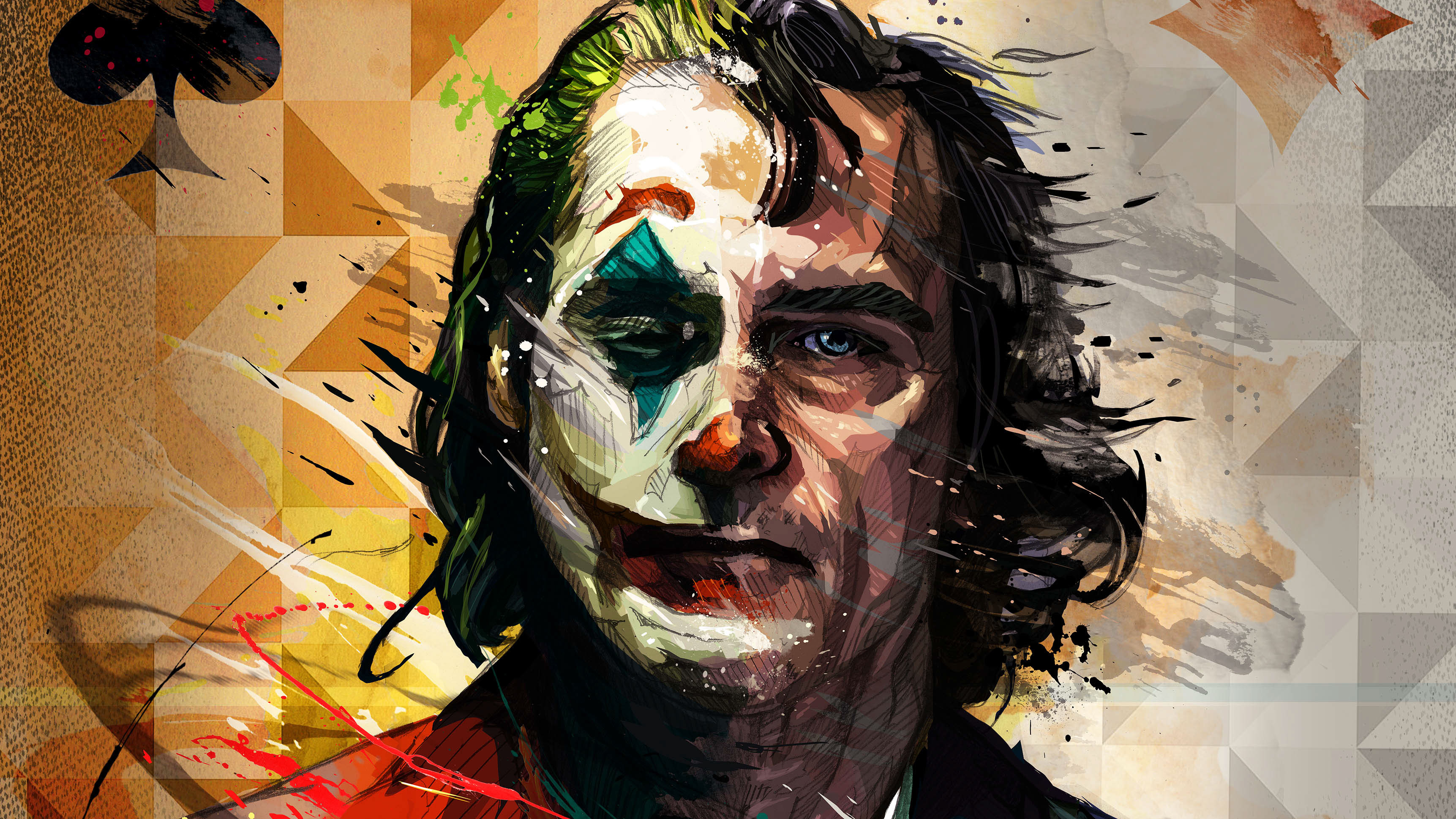 Joker 2019 Artwork, HD Superheroes, 4k Wallpapers, Images ...