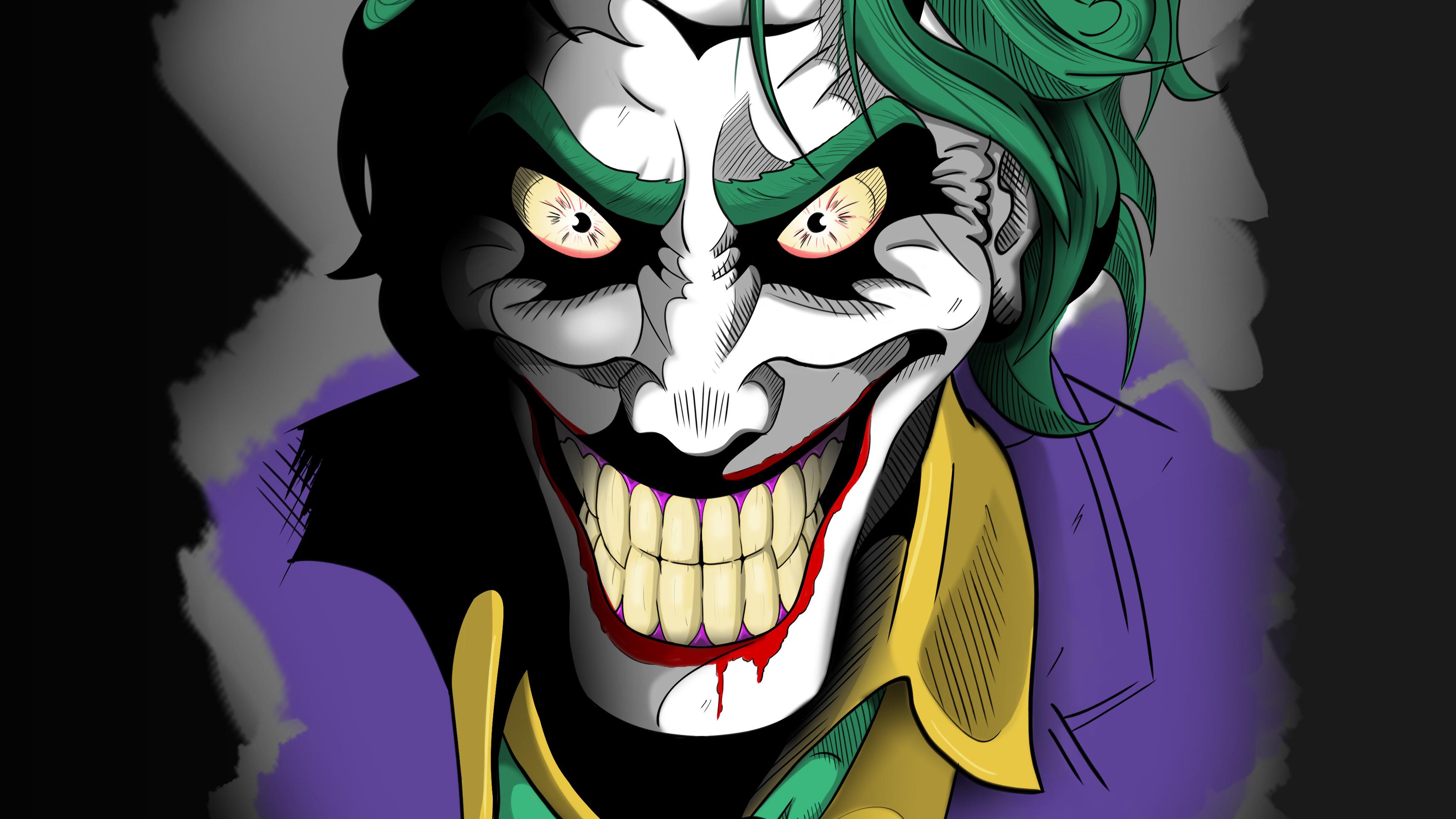 Joker Art 4k 2019, HD Superheroes, 4k Wallpapers, Images ...
