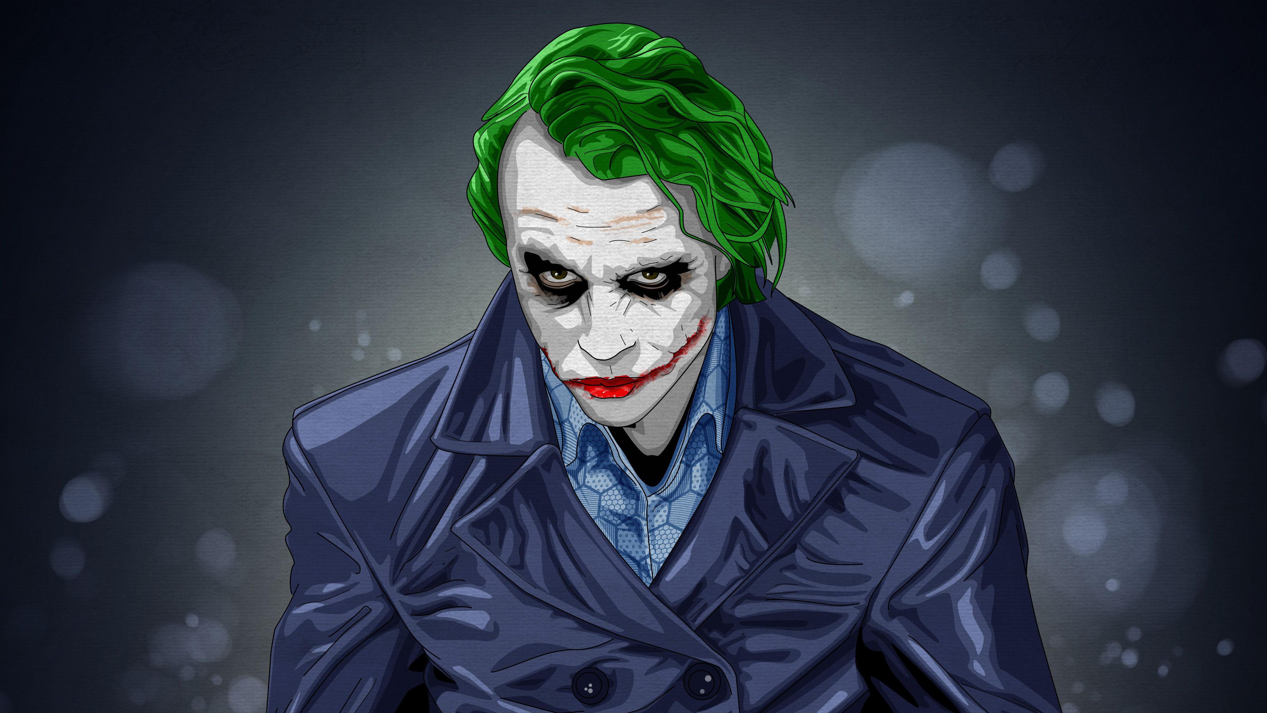 3840x2400 joker artwork 4k 4k hd 4k wallpapers images for Joker wallpaper 4k