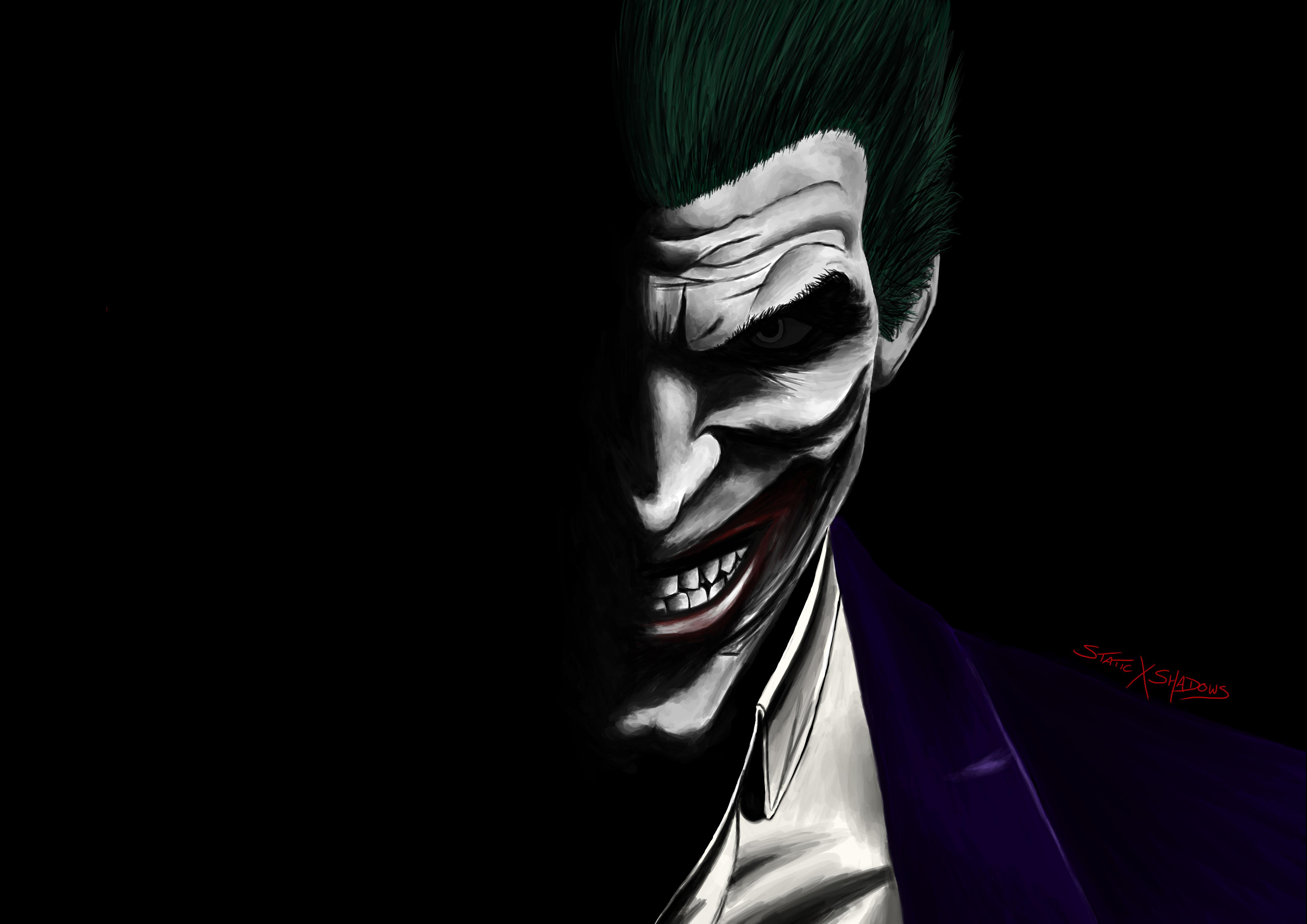 Pubg Fan Art 5k Wallpapers: Joker Artwork 5k, HD Superheroes, 4k Wallpapers, Images