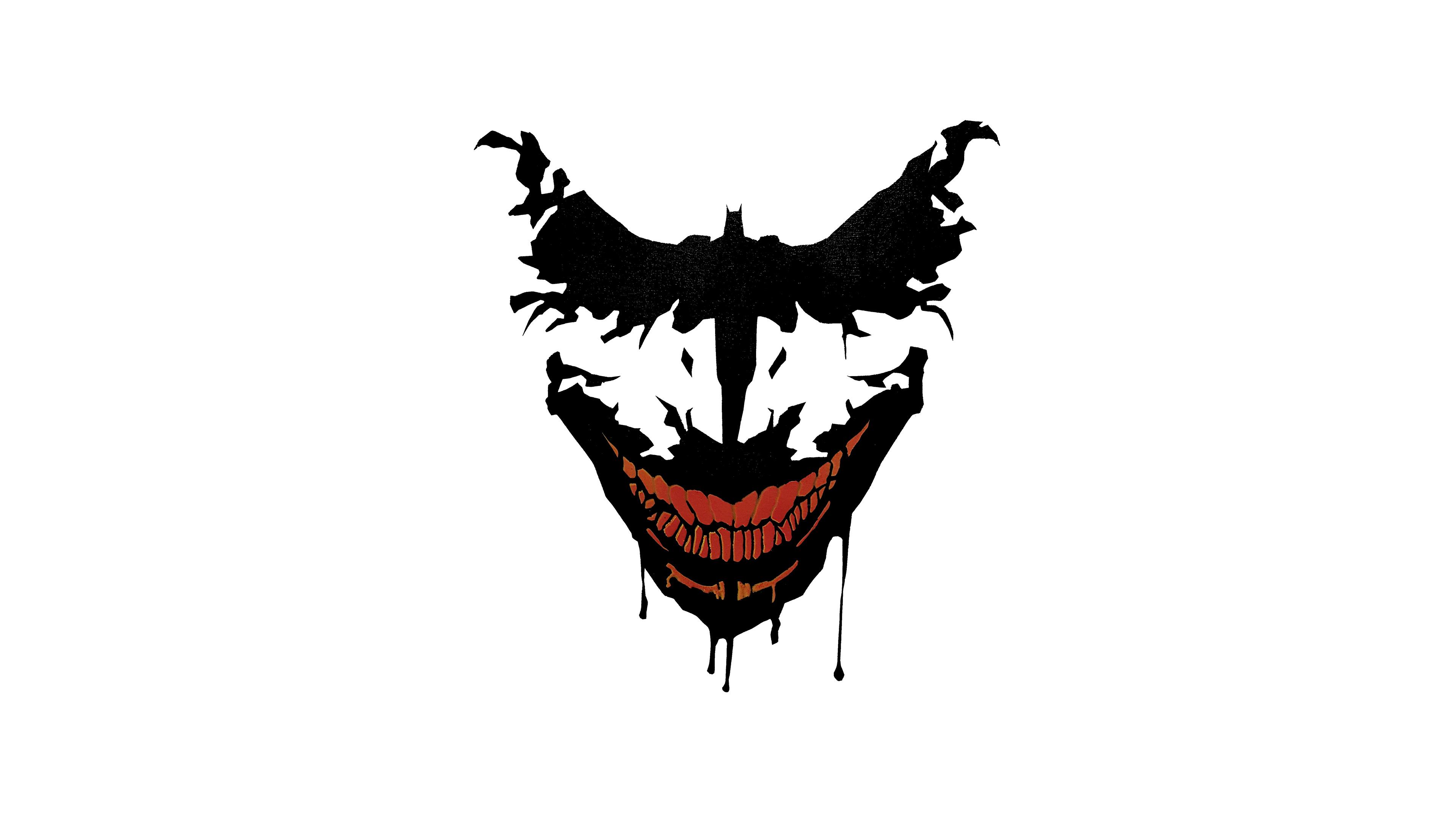 Joker Bat Art Hd Superheroes 4k Wallpapers Images