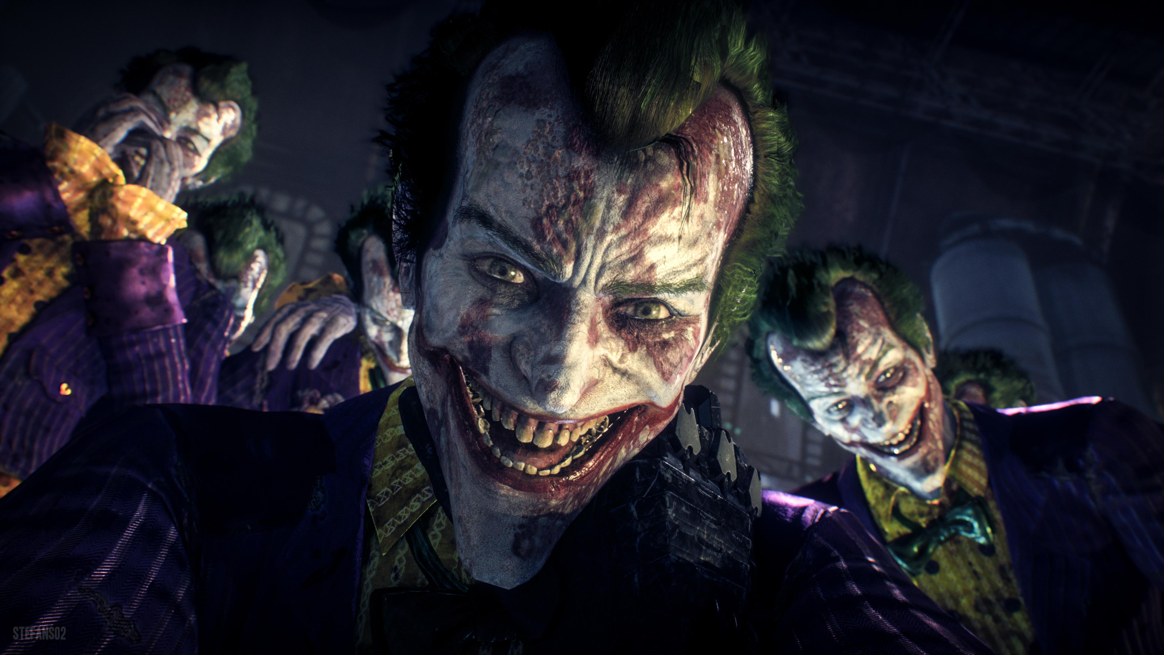 2048x2048 Joker Batman Arkham Knight Ipad Air HD 4k Wallpapers