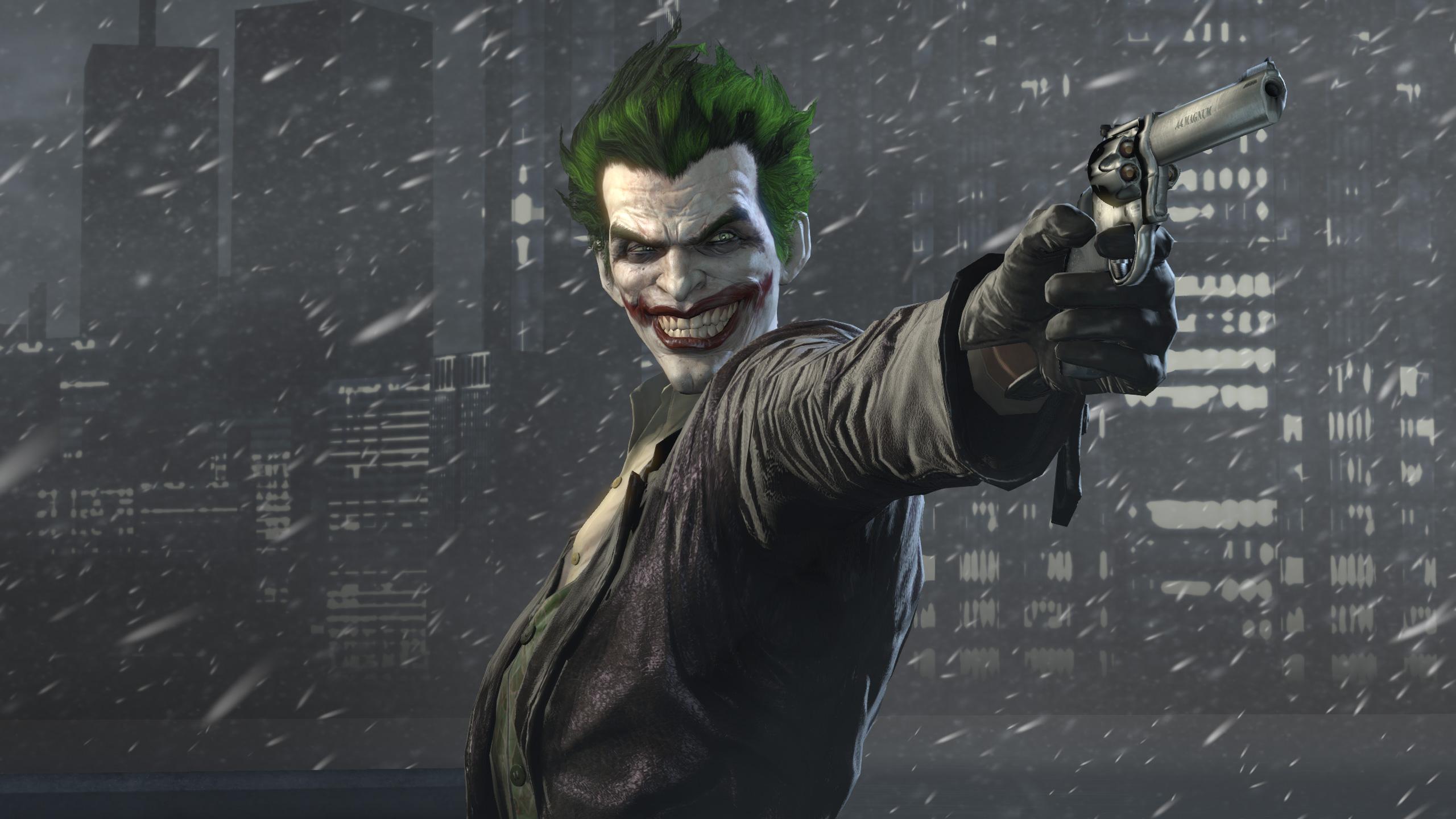 Joker batman arkham origins hd games 4k wallpapers for Joker wallpaper 4k