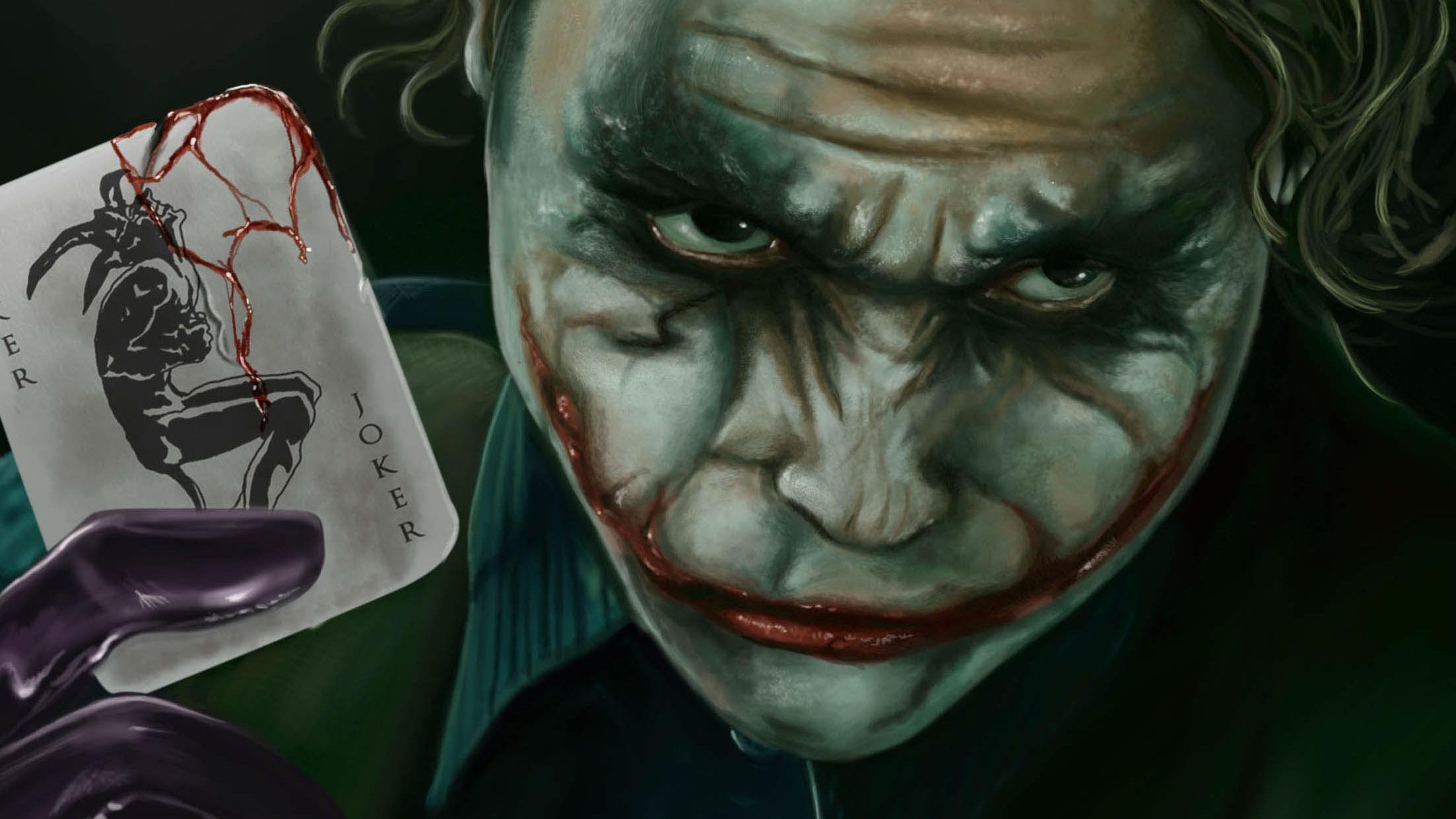 Halloween Joker Card.Joker Card Art Hd Superheroes 4k Wallpapers Images Backgrounds