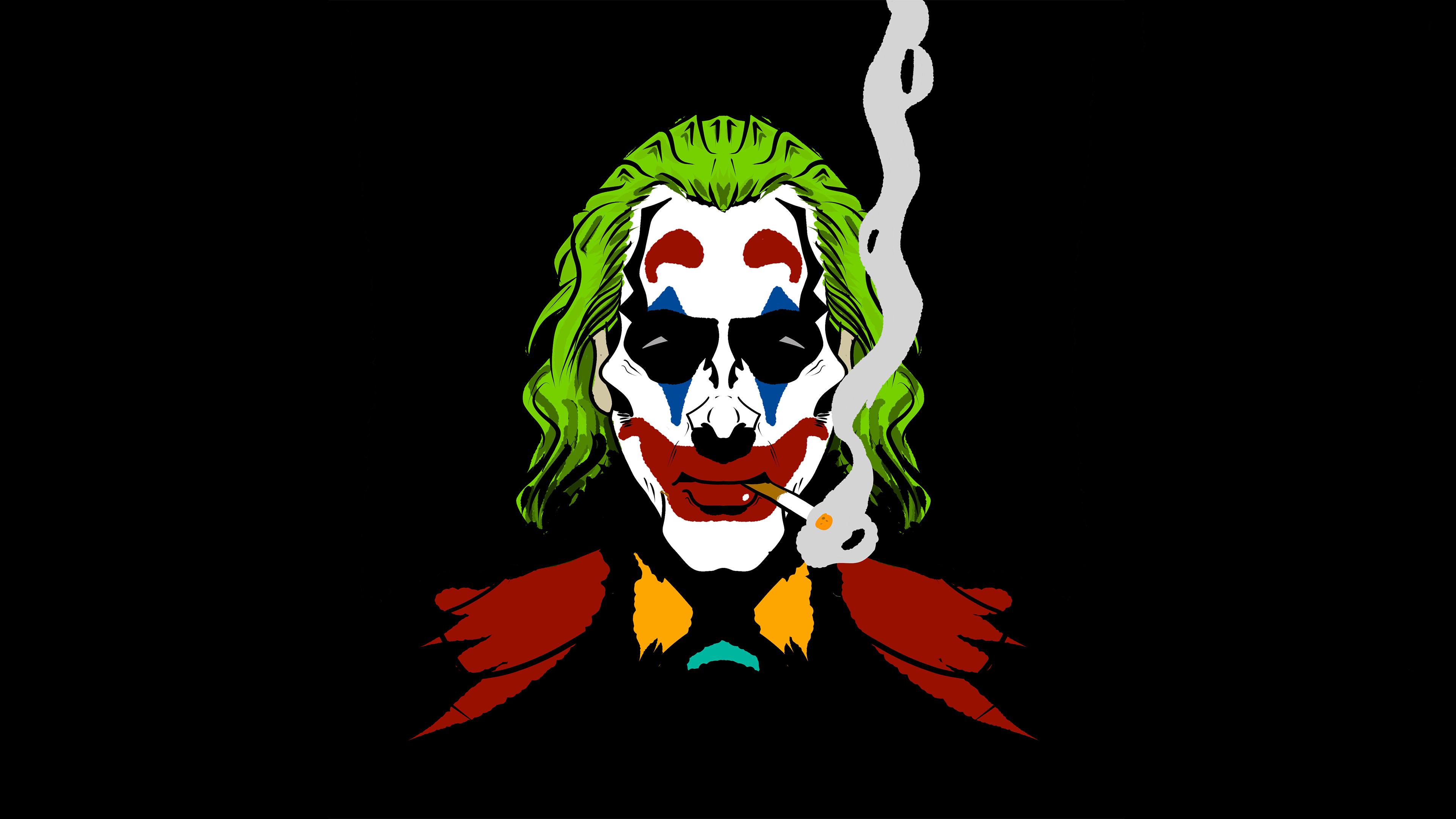 Joker Cigratte Smoking Hd Superheroes 4k Wallpapers