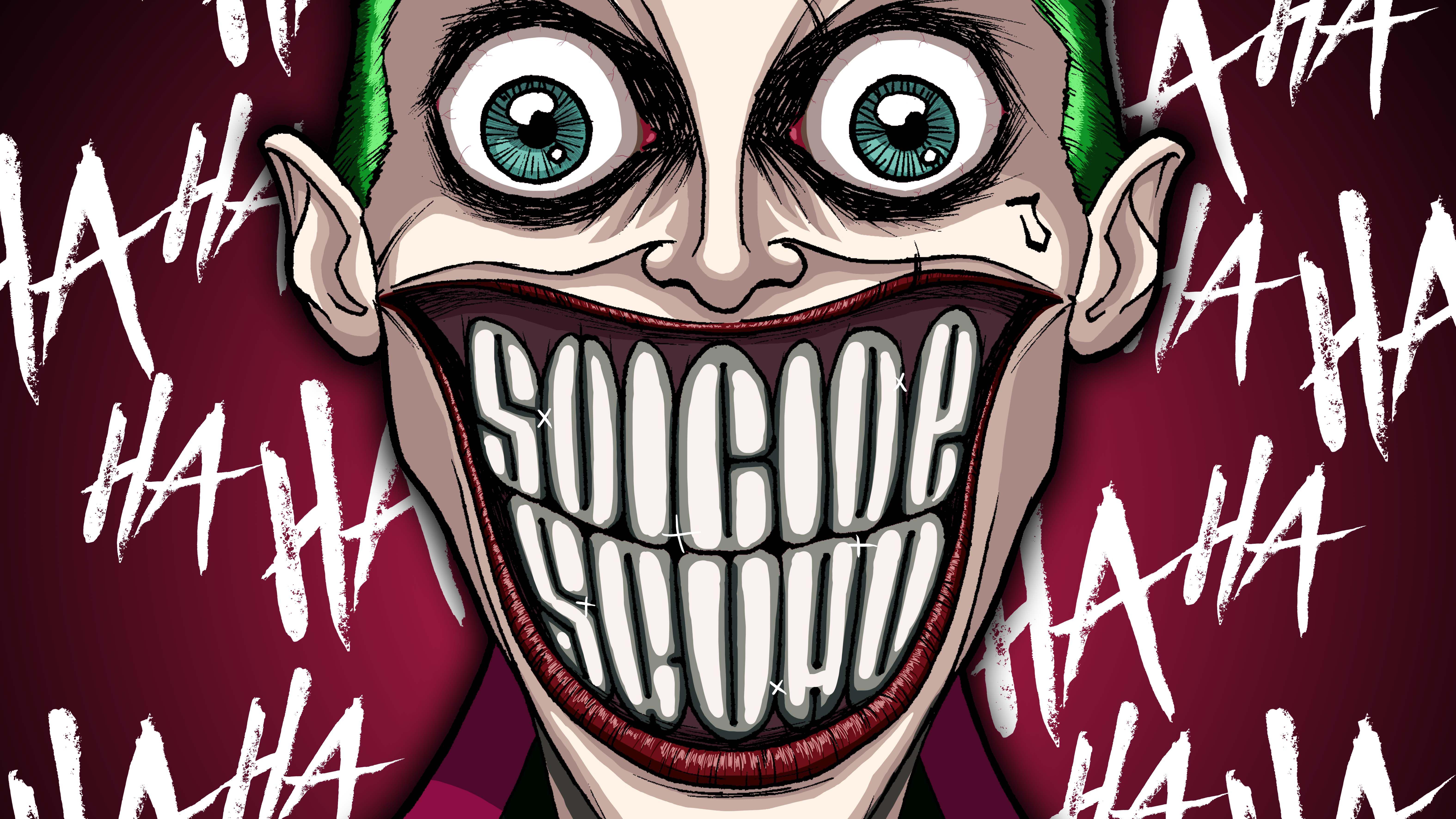 Joker Damaged 5k, HD Superheroes, 4k Wallpapers, Images ...