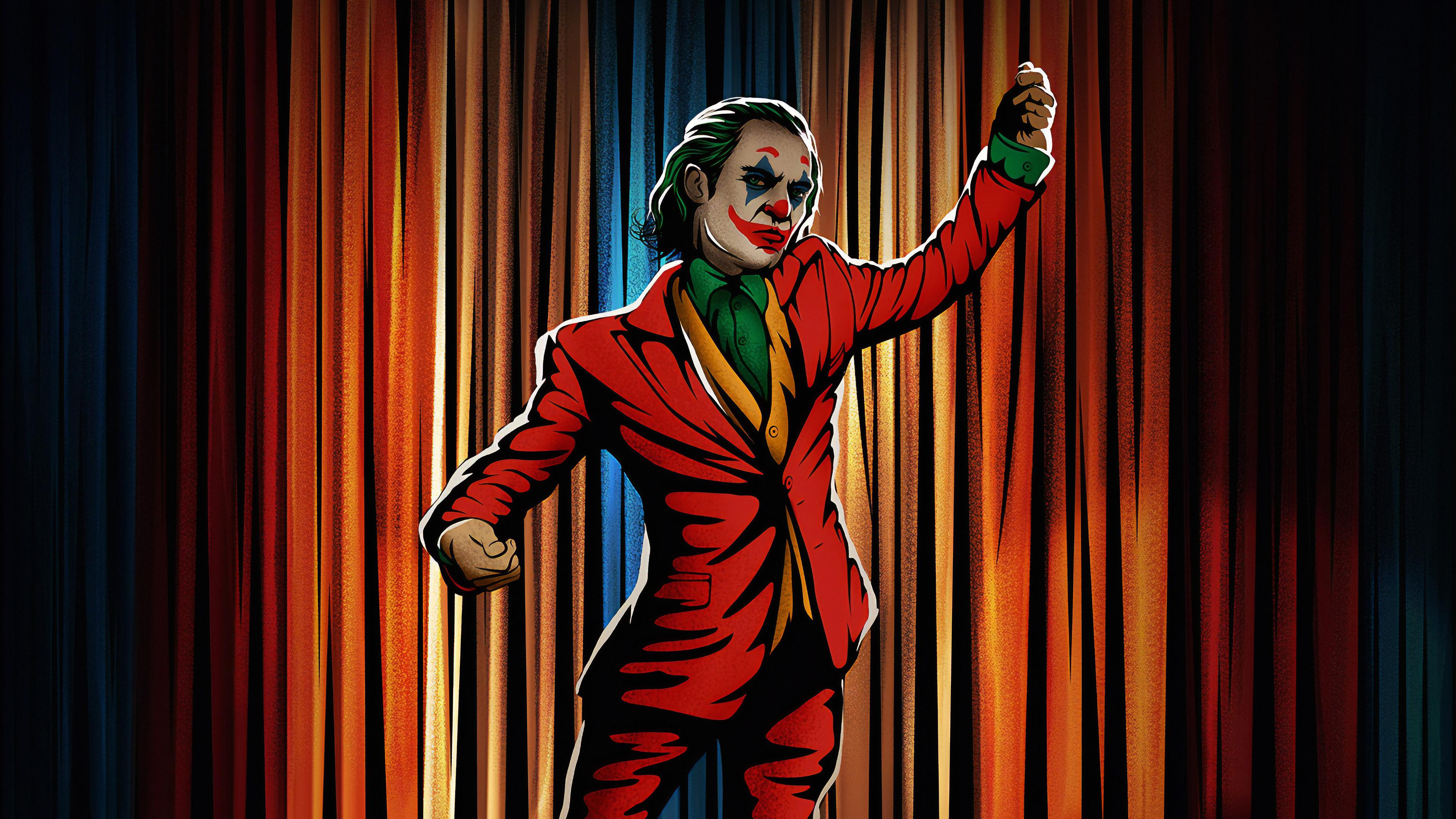 Joker Dancing Hd Superheroes 4k Wallpapers Images