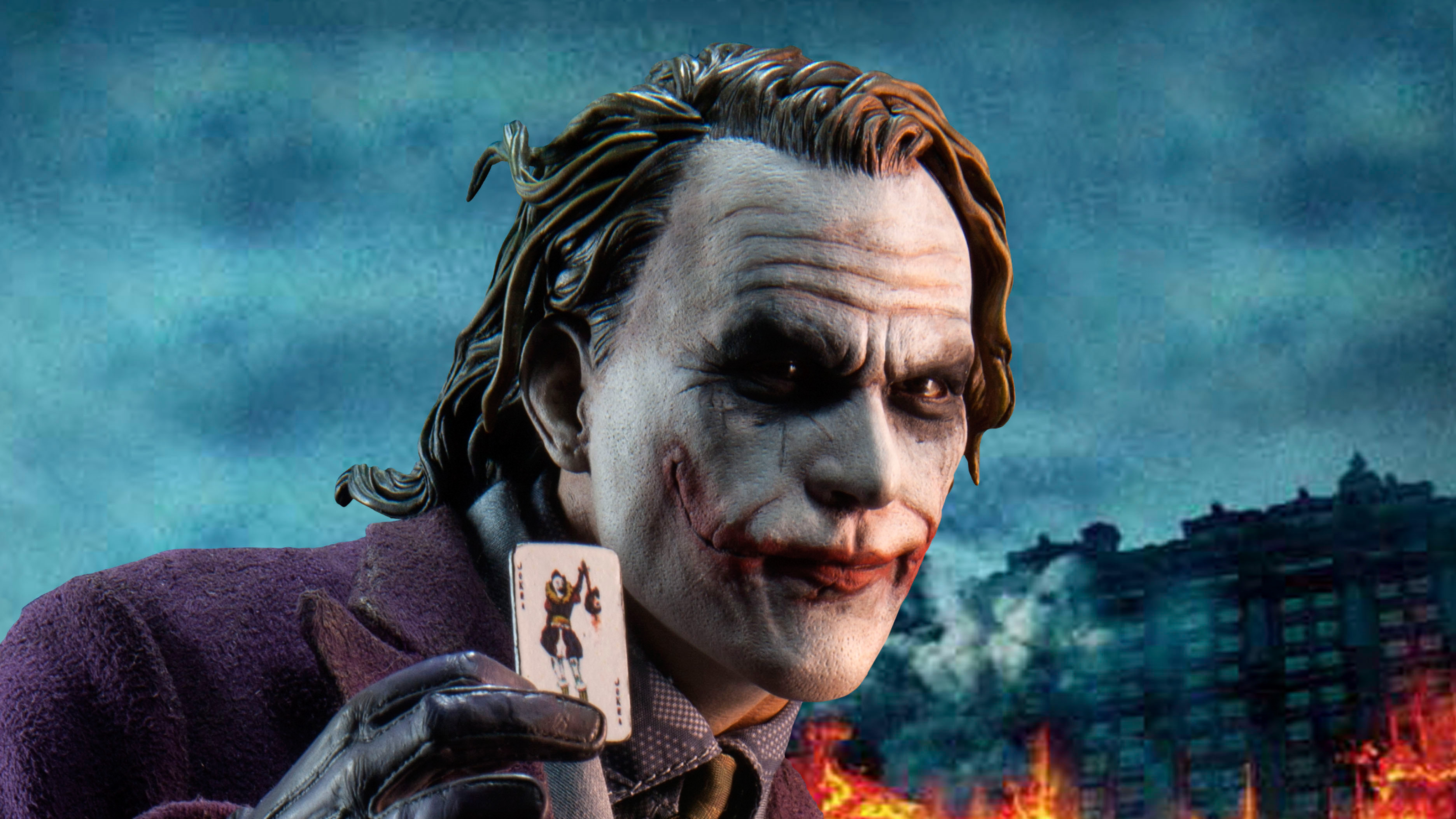 Joker Digital Art 4k, HD Superheroes, 4k Wallpapers ...