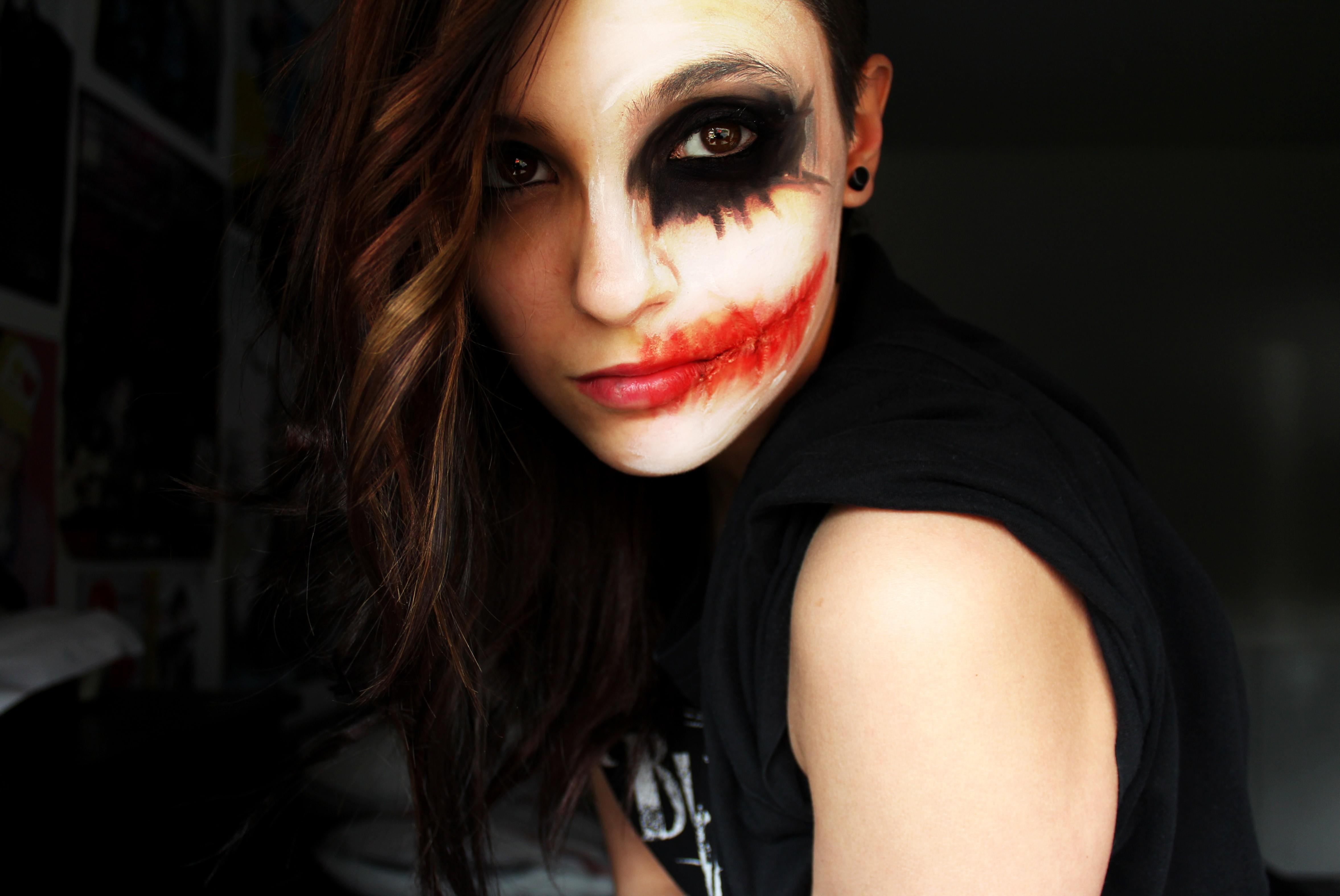 Joker Girl Makeup 5k Hd Girls 4k Wallpapers Images