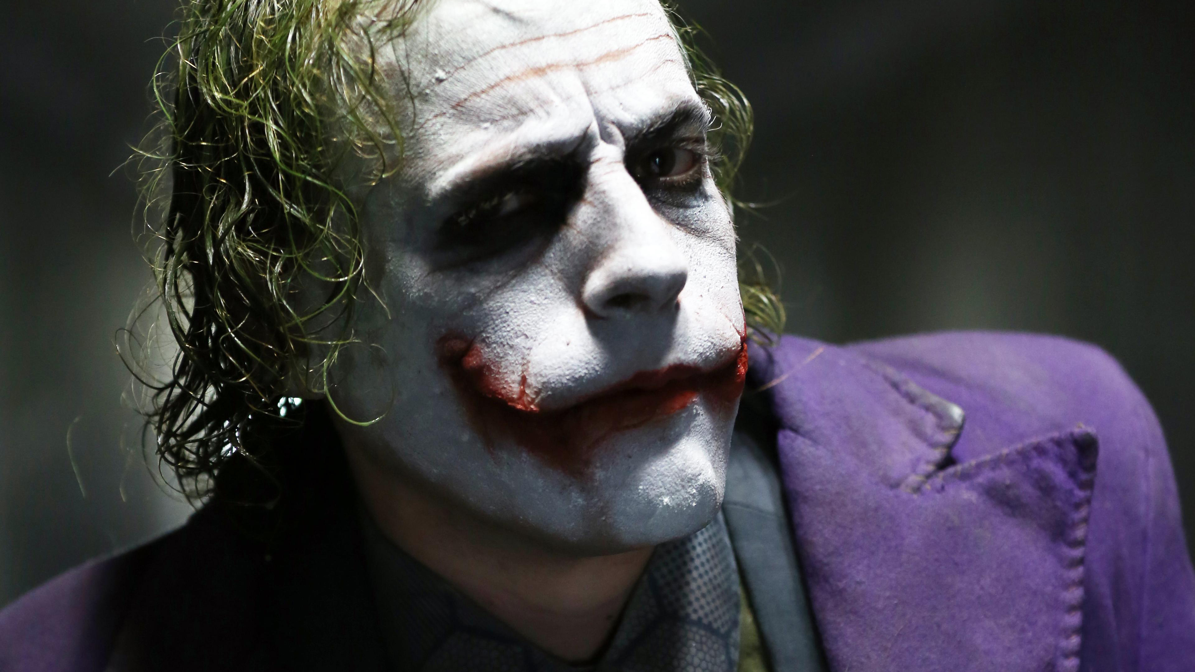 Joker Heath Ledger 4k Hd Superheroes 4k Wallpapers Images