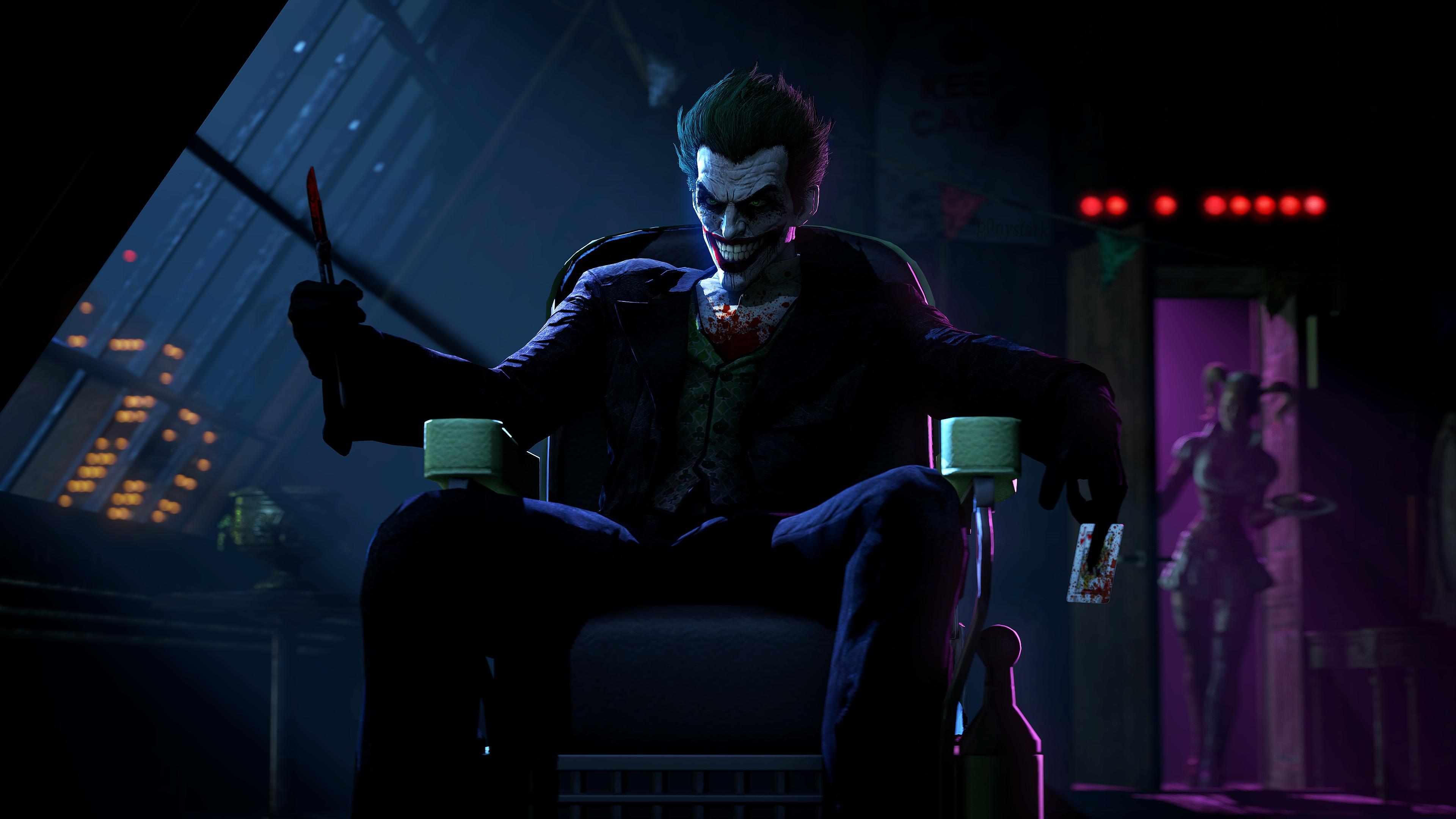 Joker In Batman Arkham Origins, HD Games, 4k Wallpapers