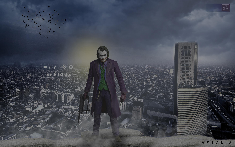 2560x1700 Joker In Gotham City Chromebook Pixel Hd 4k