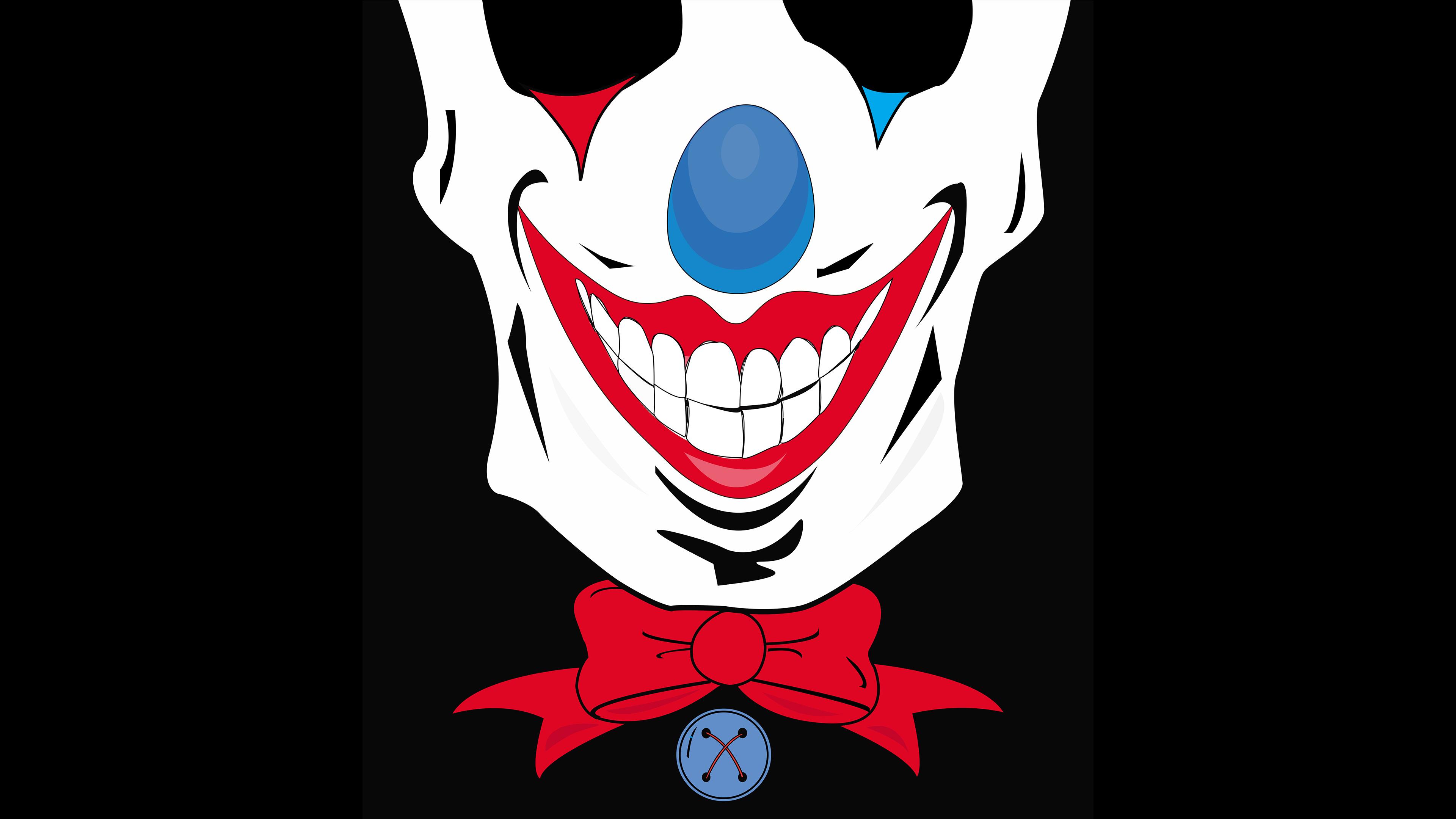 2048x2048 Joker Minimalist Dark Ipad Air HD 4k Wallpapers, Images