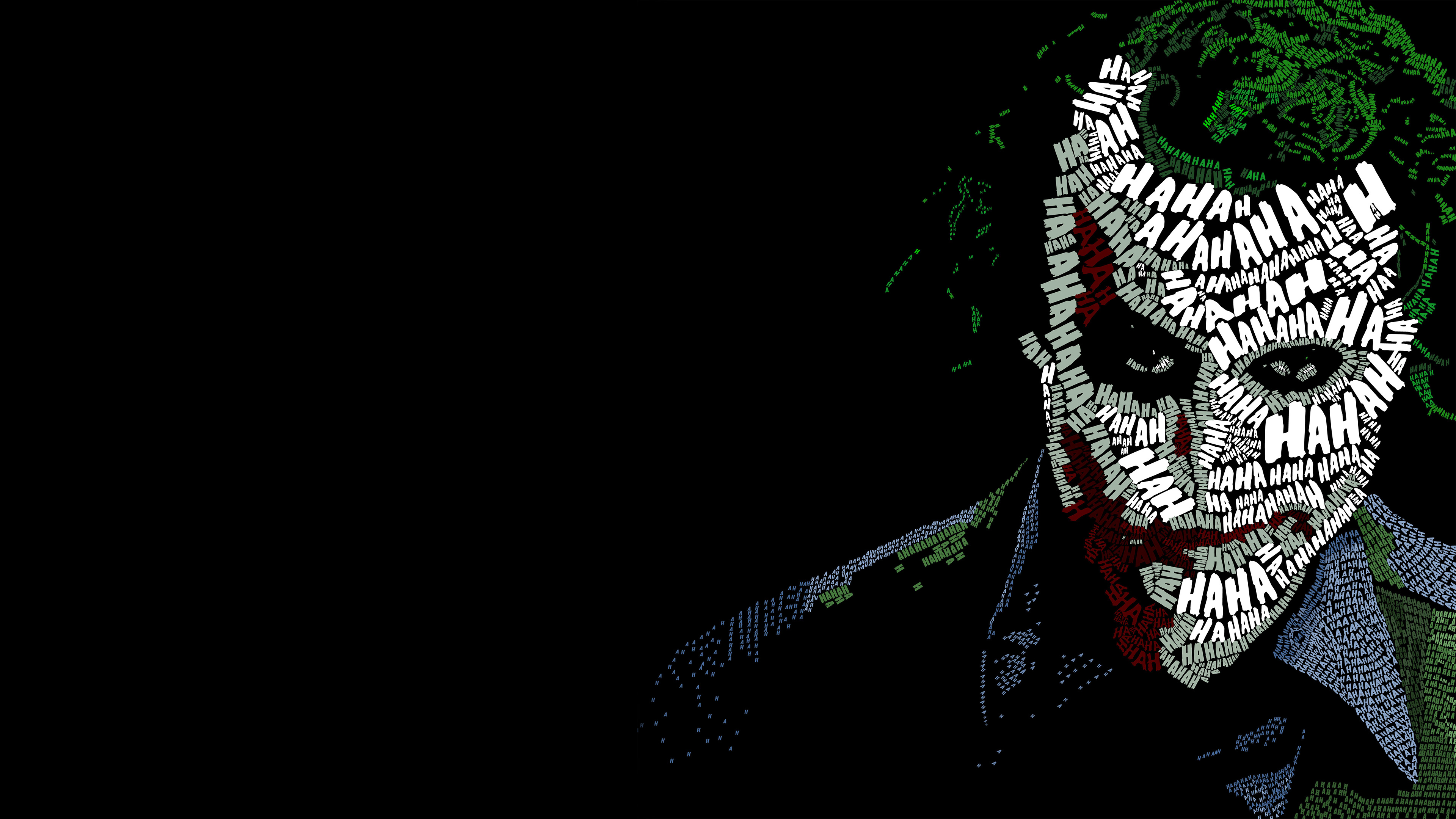2048x2048 Joker Typography Ipad Air HD 4k Wallpapers, Images