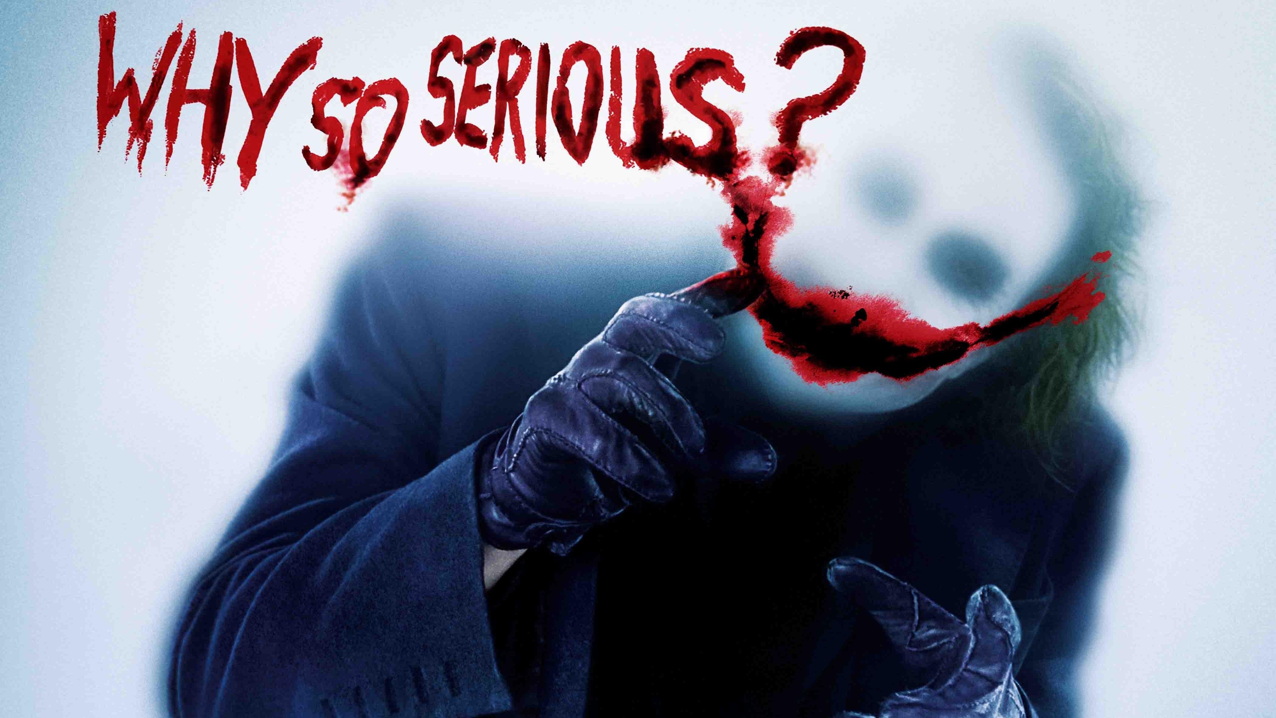 Joker Why So Serious, HD Superheroes, 4k Wallpapers ...