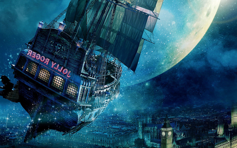 jolly roger ship peter pan hd movies 4k wallpapers