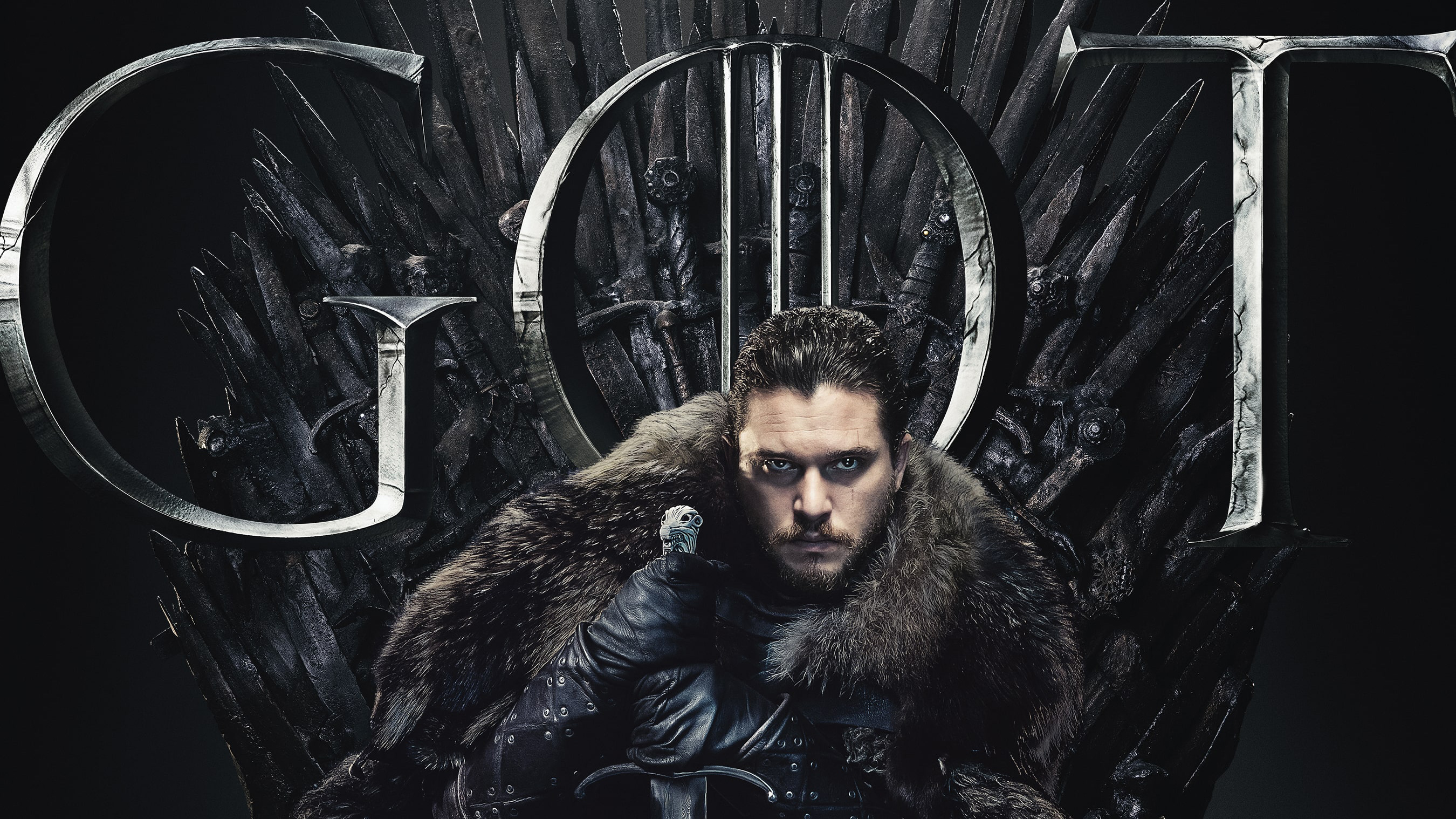 Jon Snow Game Of Thrones Season 8 Poster Hd Tv Shows 4k
